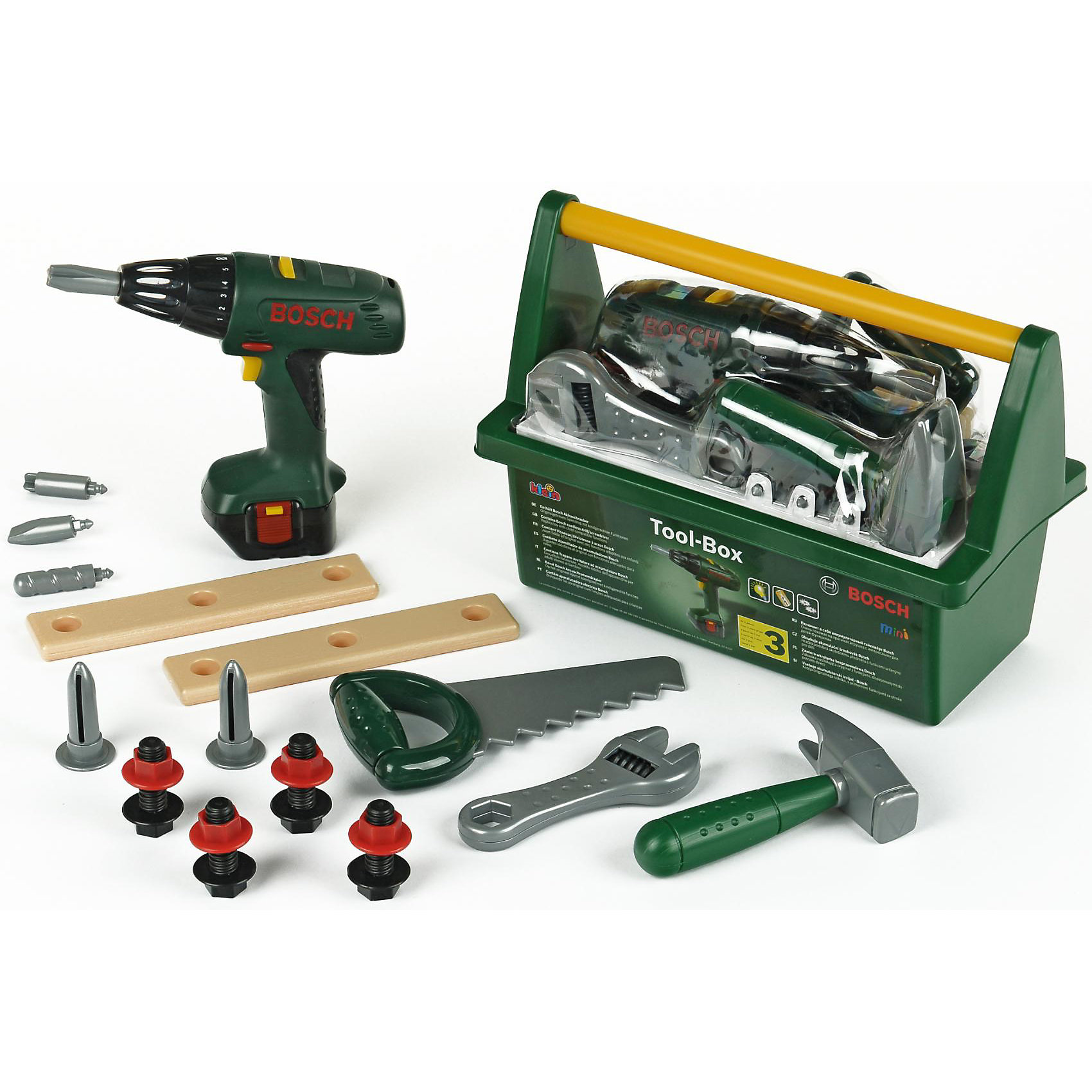 klein Набор инструментов с дрелью Bosch, Klein
