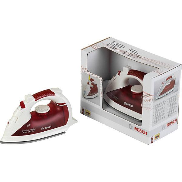 Утюг Bosch, KleinИгрушечная бытовая техника<br>Утюг Bosch от Klein(Кляйн) - точная копия настоящего утюга. Игрушка имеет все функции утюга(кроме нагревания), при этом она легко помещается в руку ребенка. Отличный выбор для маленьких хозяюшек!<br><br>Особенности:<br>- индикатор включения<br>- резервуар для воды<br>- разбрызгиватель<br>- переключатель для режимов глажки и пара<br><br>Дополнительная информация:<br>Материал: пластик<br>Размер упаковки: 20х9,5х15,5 см<br>Вес: 285 грамм<br><br>Утюг Bosch от Klein(Кляйн) можно купить в нашем интернет-магазине.<br>Ширина мм: 206; Глубина мм: 159; Высота мм: 101; Вес г: 309; Возраст от месяцев: 36; Возраст до месяцев: 72; Пол: Женский; Возраст: Детский; SKU: 1798622;
