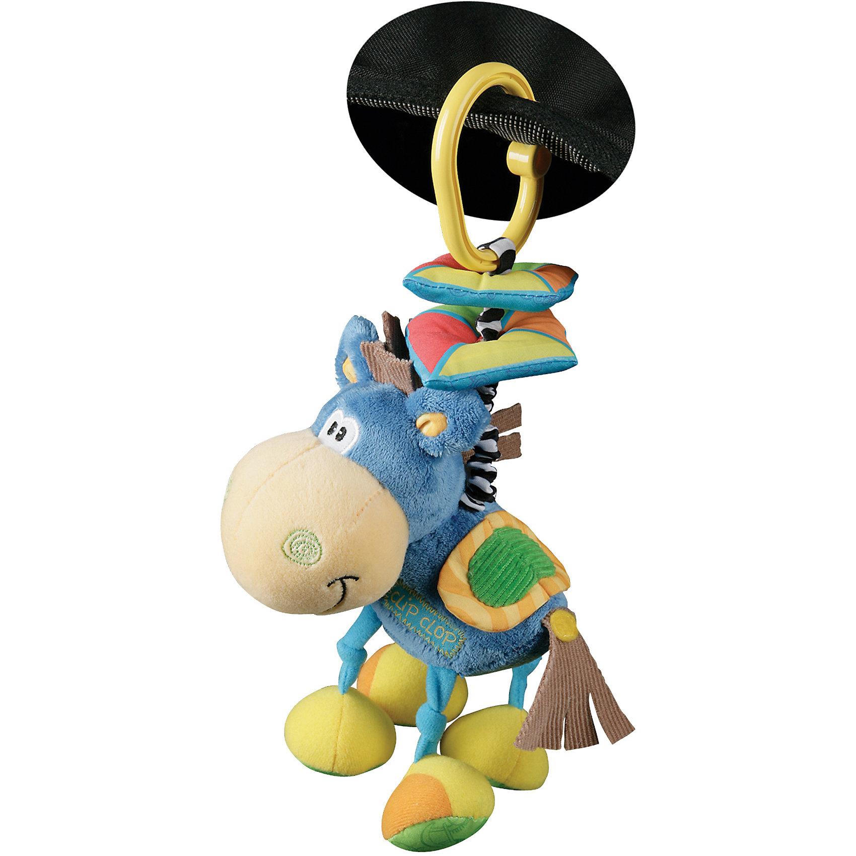 Playgro Мягкая игрушка-подвеска Ослик playgro мягкая игрушка щенок