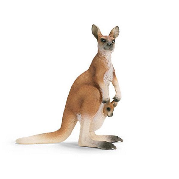 Schleich Кенгуру. Серия Дикие животныеМир животных<br>Schleich (Шляйх), кенгуру. Серия Дикие животные.<br><br>Характеристика:<br><br>• Материал: резина, пластик.  <br>• Размер фигурки: 8,6x3,7x9,3 см. <br>• Фигурка прекрасно детализирована.<br>• Реалистично раскрашена вручную. <br><br>Фигурка кенгуру отлично детализирована и реалистично раскрашена. Игрушки серии Дикие животные от немецкого бренда Schleich изготовлены из высококачественных экологичных материалов, с применением только безопасных, нетоксичных красителей. Собери всю коллекцию Schleich и познакомься поближе с такими удивительными дикими и домашними животными! <br><br>Schleich (Шляйх), кенгуру, серия Дикие животные, можно купить в нашем интернет-магазине.<br>Ширина мм: 128; Глубина мм: 55; Высота мм: 96; Вес г: 46; Возраст от месяцев: 36; Возраст до месяцев: 96; Пол: Унисекс; Возраст: Детский; SKU: 1821348;