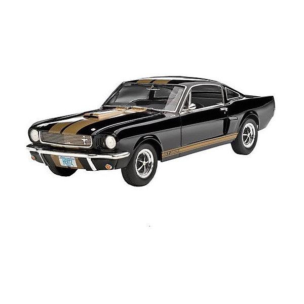 Автомобиль Shelby Mustang, RevellМашинки<br>Автомобиль Shelby Mustang, Revell (Ревелл) – максимально детализированная модель станет украшением комнаты и дополнением коллекции.<br>Модель автомобиля Shelby Mustang GT 350 H от фирмы Revell (Ревелл) является уменьшенной копией одного из самых известных автомобилей США Shelby Mustang GT 350 H 1966 года. Модель состоит из 86 деталей, которые необходимо собрать, склеить и покрыть краской в соответствии с инструкцией. В наборе также прилагаются клей в удобной упаковке, краски и кисточка. Модель тщательно проработана. Оригинальный кузов выполнен в мельчайших подробностях, а интерьер машины с подлинной приборной панелью и сиденьями превосходно детализирован. Колёса автомобиля выглядят совсем как настоящие, Крышка капота открывается, под ней располагается высокодетализированный V-образный 8-цилиндровый двигатель. А для ещё большей достоверности, некоторые части модели имеют блестящее металлическое напыление. Разработанная для детей от 10 лет, сборная модель знаменитого автомобиля Shelby Mustang GT 350 H, определённо, принесёт массу положительных эмоций и взрослым любителям моделирования. Моделирование считается одним из наиболее полезных хобби, ведь оно развивает интеллектуальные и инструментальные способности, воображение и конструктивное мышление. Прививает практические навыки работы со схемами и чертежами.<br><br>Дополнительная информация:<br><br>- Возраст: для детей старше 10-и лет<br>- В наборе: комплект пластиковых деталей для сборки модели, декаль (наклейки), базовые акриловые краски, клей, кисточка, инструкция<br>- Количество деталей: 86 шт.<br>- Масштаб модели: 1:24<br>- Длина модели: 191 мм.<br>- Уровень сложности: 3 (из 5)<br>- Дополнительно потребуются: кусачки, для того чтобы отделить детали с литников<br>- Краски из набора можно разбавлять обычной водой или фирменным растворителем Revell (Ревелл)<br><br>Модель Автомобиля Shelby Mustang, Revell (Ревелл) можно купить в нашем интернет-магазине.<br>Ширина мм: 370; Гл