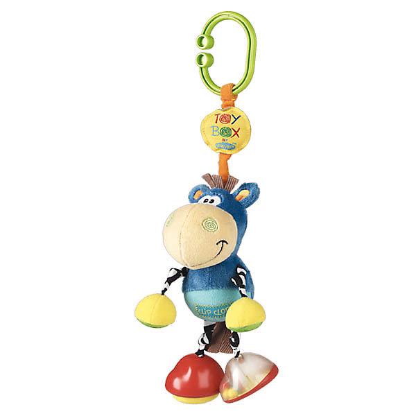 Игрушка-подвеска ОсликИгрушки для новорожденных<br>Игрушка-подвеска Ослик.<br><br>Характеристики:<br><br>- Цвет: голубой, желтый<br>- Состав: полиэстер, пластик<br><br>Игрушка-подвеска Ослик – отличный выбор, в качестве первой игрушки.  Данная модель  изготовлена из яркой, приятной на ощупь, мягкой ткани со вставками из элементов разной фактуры. Если потянуть игрушку вниз, она завибрирует, пока не вернется в исходное положение. Легко крепится на любой тип коляски с помощью большого зажима. Такая игрушка отлично развивает мелкую моторику малыша, а также тактильное и цветовое восприятие.<br><br>Игрушку-подвеску Ослик можно купить в нашем интернет – магазине.<br><br>Ширина мм: 234<br>Глубина мм: 129<br>Высота мм: 91<br>Вес г: 116<br>Цвет: mehrfarbig<br>Возраст от месяцев: 0<br>Возраст до месяцев: 12<br>Пол: Унисекс<br>Возраст: Детский<br>SKU: 1842399