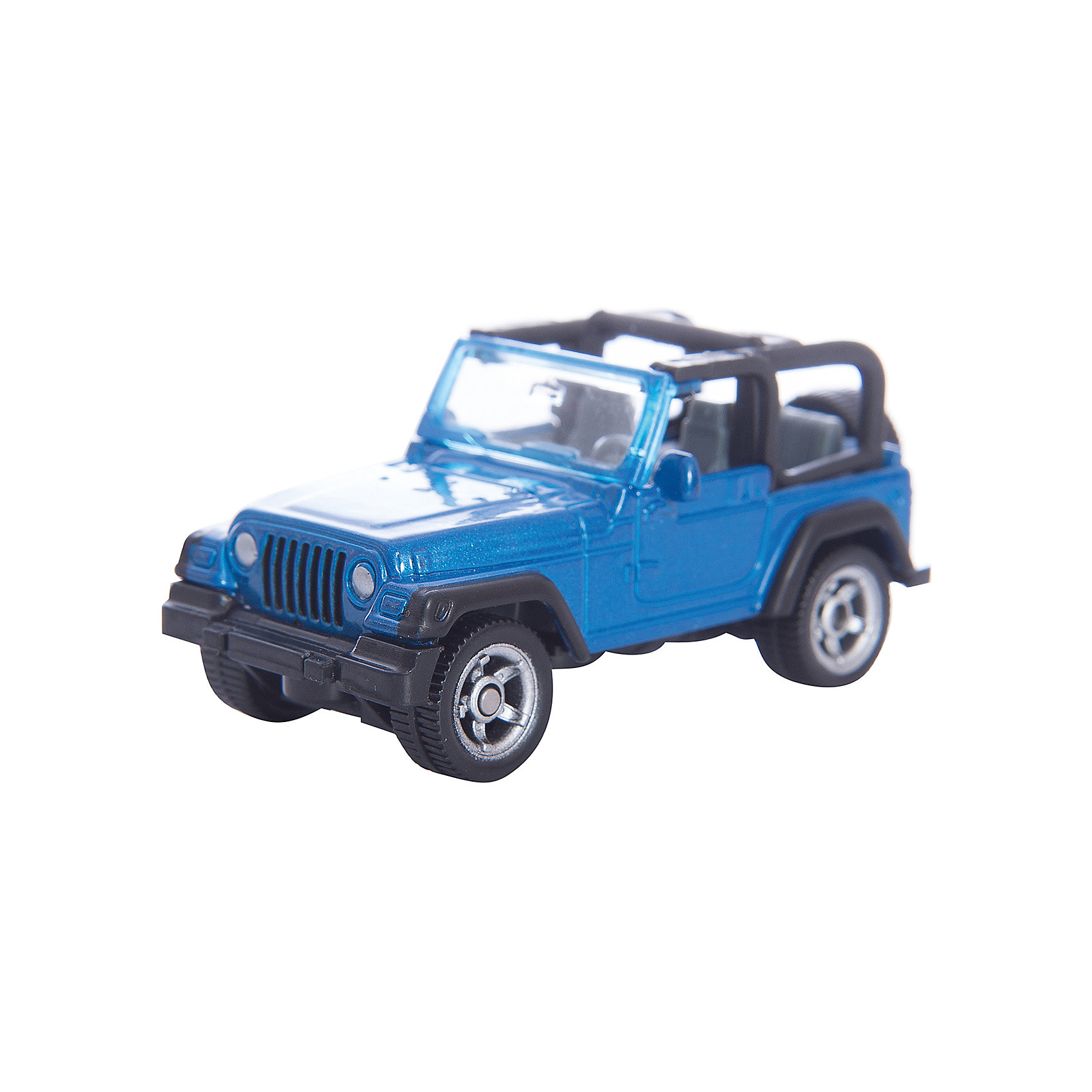 SIKU SIKU 1342 Jeep Wrangler siku внедорожник jeep wrangler с прицепом для перевозки лошадей