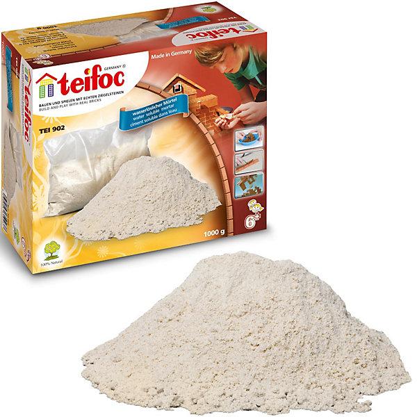 Строительный раствор 1 кгКонструкторы из кирпичиков<br>Характеристики товара:<br><br>• возраст: от 6 лет;• материал: крахмал;<br>• в комплекте: 1 кг строительного раствора;<br>• размер упаковки: 18х15х8 см;<br>• вес упаковки: 1,1 кг;<br>• страна бренда: Германия.<br><br>Строительный раствор 1 кг Teifoc создан специально для конструкторов Teifoc, чтобы соединять детали. Раствор легко растворяется в воде и является безопасным для детей, так как создан на основе крахмала.<br><br>Строительный раствор 1 кг Teifoc можно приобрести в нашем интернет-магазине.<br>Ширина мм: 181; Глубина мм: 149; Высота мм: 84; Вес г: 1185; Возраст от месяцев: 72; Возраст до месяцев: 120; Пол: Мужской; Возраст: Детский; SKU: 1854062;