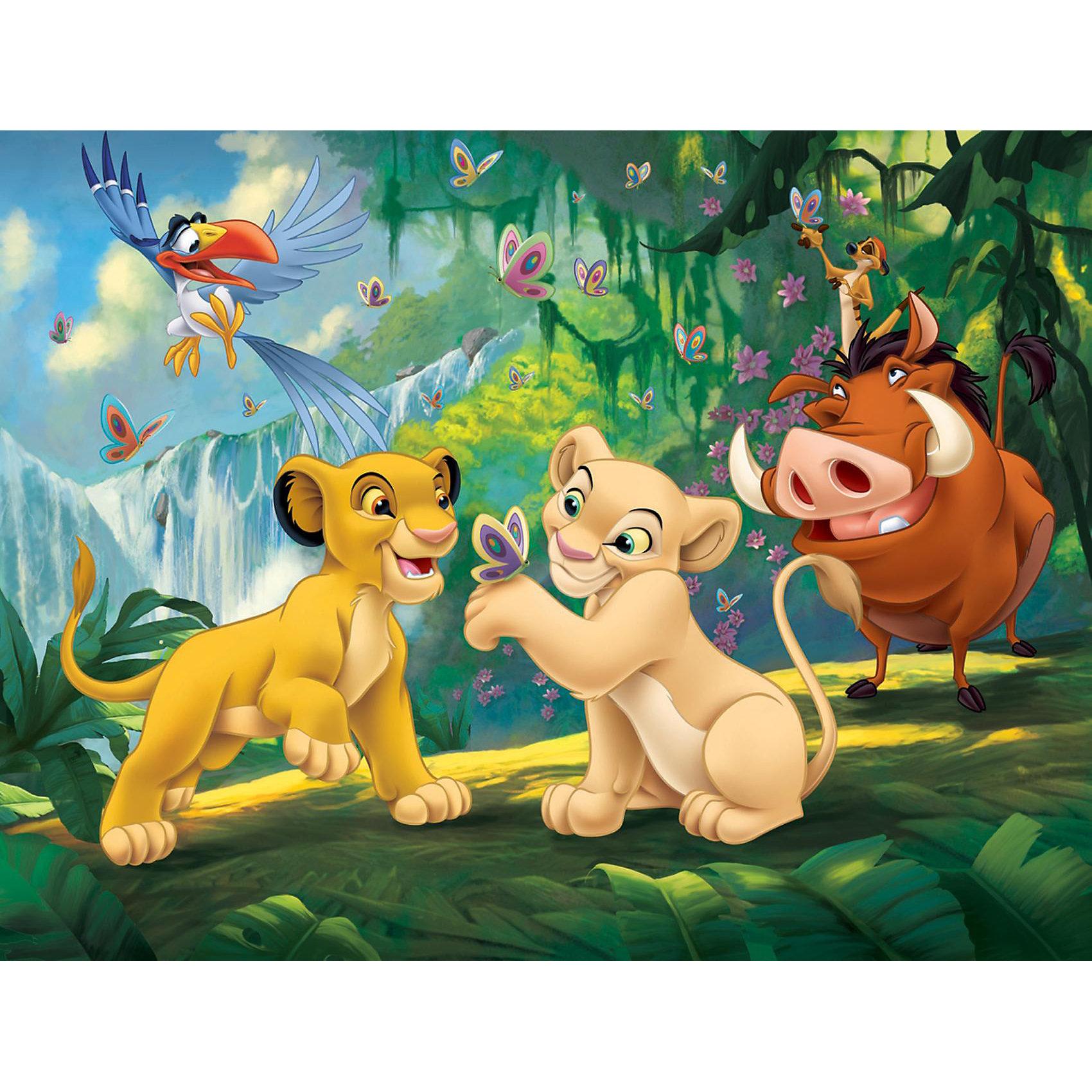 """Clementoni, Пазл """"король лев. кошки"""", 2х20 деталей, дисней"""