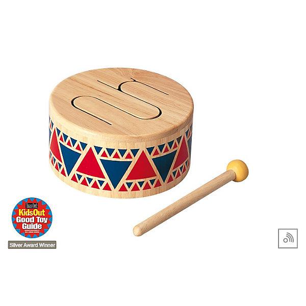 PLAN TOYS 6404 БарабанДетские музыкальные инструменты<br>Это особенный музыкальный инструмент, целиком сделанный из цельного дерева. По четырем различным сегментам барабана можно ударять резиновой палочкой. Каждый сегмент издает свой собственный звук. <br><br>Размеры: 8,5 x 16 см<br><br>Ширина мм: 174<br>Глубина мм: 98<br>Высота мм: 193<br>Вес г: 606<br>Возраст от месяцев: 24<br>Возраст до месяцев: 48<br>Пол: Мужской<br>Возраст: Детский<br>SKU: 1861054