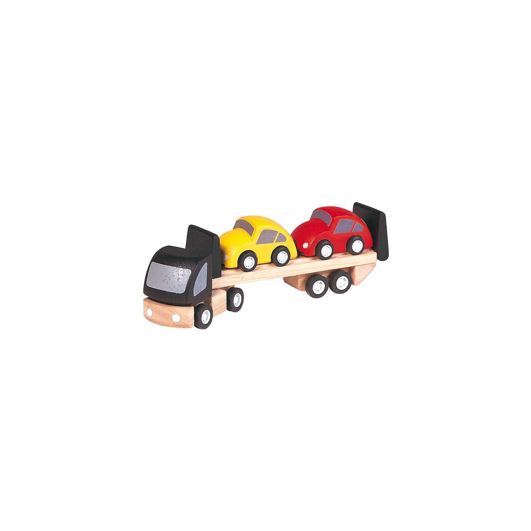 Автовоз, Plan ToysДети могут создавать различные истории с помощью игры с хорошо знакомыми машинками. А что, если машинка сломалась? Её необходимо отвезти на станцию техоблуживания с помощью трейлера для перевозки машин! А если автомобиль припаркован в неположенном месте? Опять не обойтись без транспортера - малыш доставит машину на штраф-стоянку. В набор входит автовоз и 2 ярких автомобиля.  Серия Plan City способствует расширению детского кругозора и является идеальной для ролевых игр. Развивает воображение ребенка и его творческие способности. Играя в машинки вместе с другими детьми, малыши учатся таким социальным правилам, как брать и давать, взаимодействие, сотрудничество и обмен. Все машинки выполнены из каучукового дерева с использованием нетоксичных красок и специально изготавливаются с закругленными краями, чтобы избежать вероятности травмирования.<br><br>Дополнительная информация:<br><br>Размеры автовоза: 3.0 x 16.0 x 4.5 см. <br>Размеры упаковки:14.0 x 4.3 x 6.3 см.<br><br>Ширина мм: 146<br>Глубина мм: 63<br>Высота мм: 43<br>Вес г: 118<br>Возраст от месяцев: 36<br>Возраст до месяцев: 72<br>Пол: Мужской<br>Возраст: Детский<br>SKU: 1861059