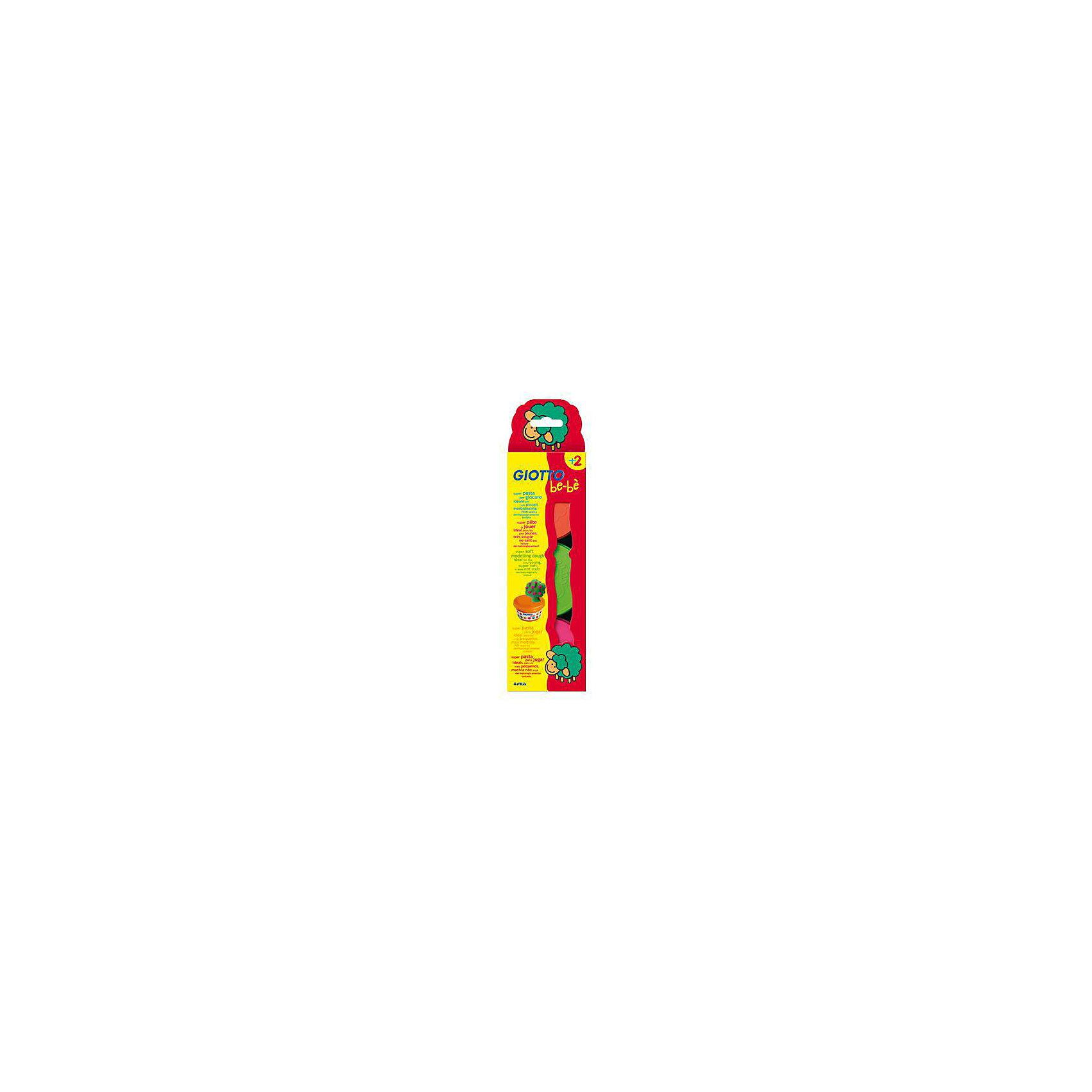 Мягкая паста для моделирования - аналог соленого теста, 3шт х 100 г, красный, зеленый, розовый.Масса для лепки<br>Характеристики товара:<br><br>• в наборе: мягкая паста (3 цвета по 100 грамм);<br>• материал: натуральные компоненты, пластик;<br>• цвет пасты: розовый, зеленый, красный;<br>• размер упаковки: 29х5х28 см;<br>• вес: 740 грамм;<br>• возраст: от 2 лет.<br><br>Набор Giotto be-be Super Modelling Dough подходит для лепки и моделирования. Паста изготовлена из натуральных компонентов, поэтому подходит даже для самых юных скульпторов. В набор входят 3 баночки с пастой: розовая, красная, зеленая.<br><br>Паста имеет мягкую, приятную консистенцию. Она легко размягчается, не липнет к рукам и быстро обретает желаемую форму. Не оставляет следов, не пачкает руки. <br><br>Giotto be-be (Джотто Бебе) Super Modelling Dough пасту для моделирования 3шт х 100 гр, красн, зел, роз можно купить в нашем интернет-магазине.<br><br>Ширина мм: 320<br>Глубина мм: 85<br>Высота мм: 51<br>Вес г: 417<br>Возраст от месяцев: 24<br>Возраст до месяцев: 1200<br>Пол: Унисекс<br>Возраст: Детский<br>SKU: 1863772