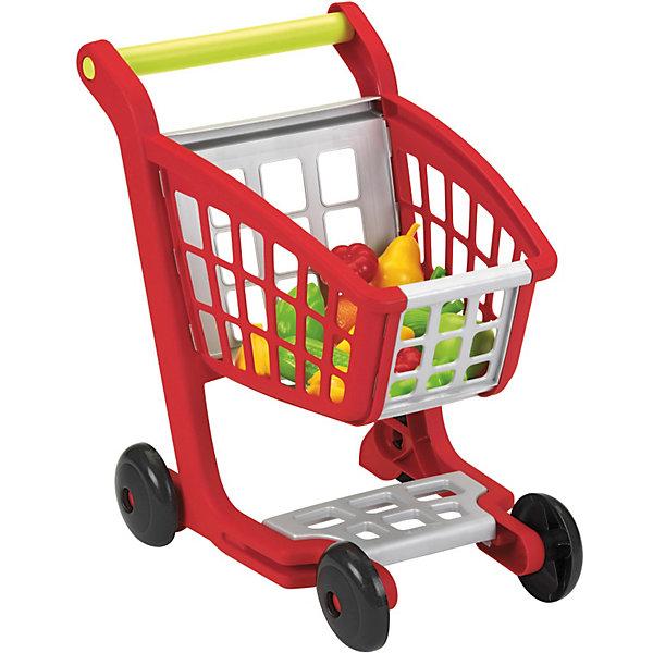 Тележка с продуктами, EcoiffierДетский супермаркет<br>Реалистичная тележка для покупок. Яркая тележка для покупок достаточно большая, чтобы вместить все покупки. Игрушка прекрасно подойдет для сюжетно-ролевых игр.<br><br>Дополнительная информация:<br><br>- В наборе фрукты и овощи: апельсин, яблоко, груша, кукуруза, 2 помидора, лук, 2 грозди бананов, лимон, папайя, сельдерей. <br>- Размеры (д/ш/в): 41,5 x 29,5 x 41,5 см.<br>- Материал: высококачественная пластмасса.<br><br>Ecoiffier Тележку с продуктами можно купить в нашем магазине.<br><br>Ширина мм: 499<br>Глубина мм: 365<br>Высота мм: 106<br>Вес г: 907<br>Возраст от месяцев: 12<br>Возраст до месяцев: 60<br>Пол: Унисекс<br>Возраст: Детский<br>SKU: 1871015