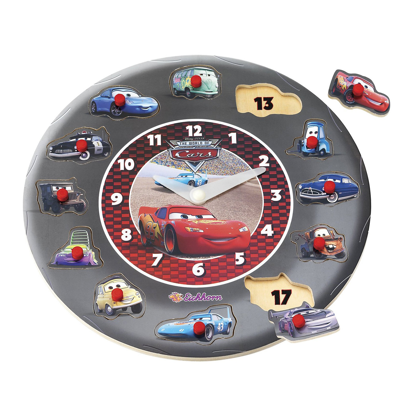 Eichhorn Часы обучающие, Тачки, Eichhorn eichhorn вагон с цистерной