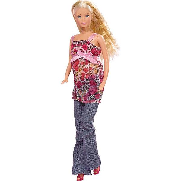 Набор Штеффи беременная, Steffi LoveБренды кукол<br>Кукла Штеффи беременная. Младенец достается из живота. В комплект входят 13 аксессуаров для ухода за малышом.<br><br>Ширина мм: 331<br>Глубина мм: 124<br>Высота мм: 60<br>Вес г: 218<br>Возраст от месяцев: 36<br>Возраст до месяцев: 72<br>Пол: Женский<br>Возраст: Детский<br>SKU: 1904753