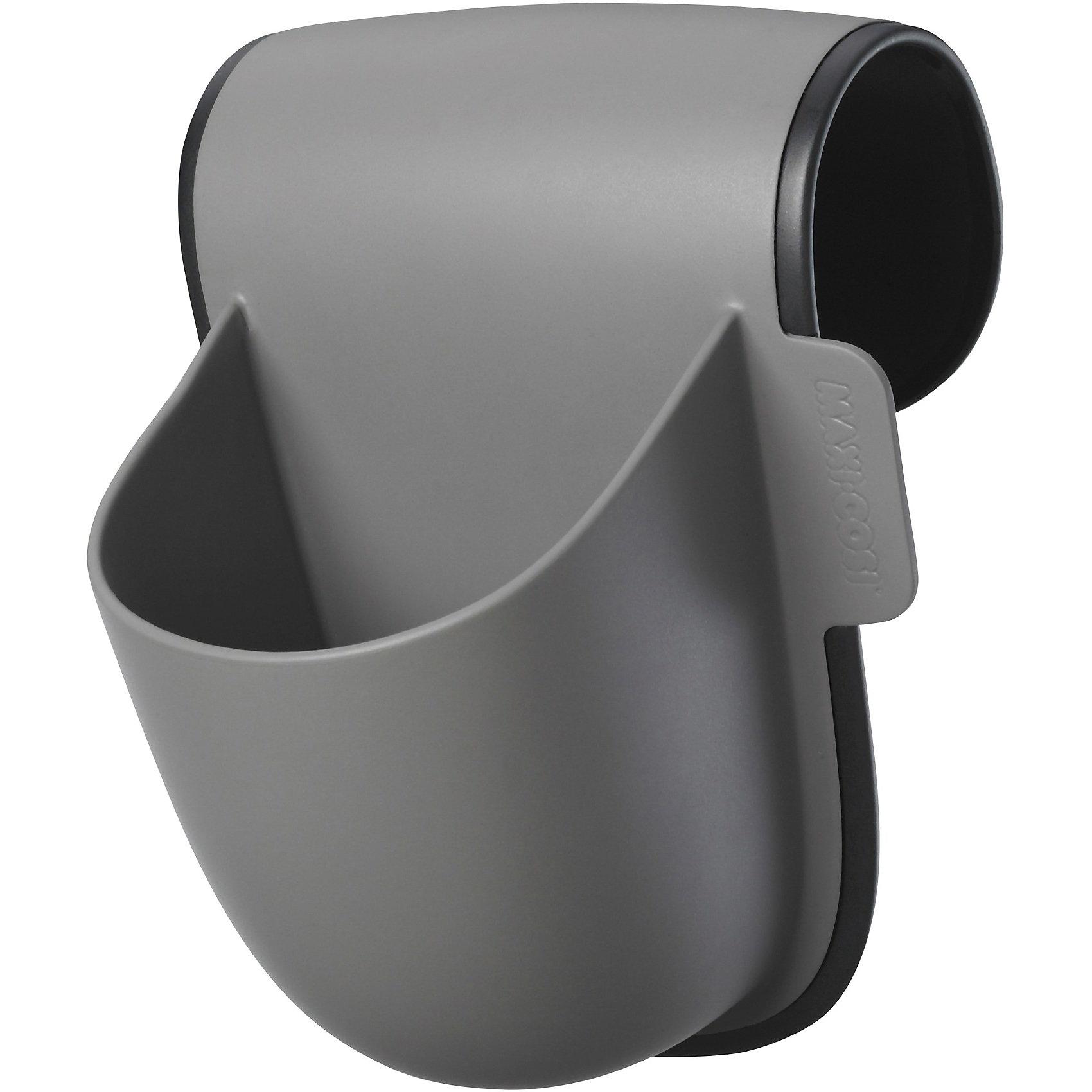 Подставка под бутылочку, Maxi-Cosi, серыйПодставка под бутылочку, Maxi-Cosi - удобный практичный аксессуар, который обеспечит Вам дополнительный комфорт во время поездок и путешествий с малышом. Подставка легко и прочно крепится на подлокотнике автокресел и надежно фиксирует бутылочку малыша. Вы можете не волноваться, что вода или другая жидкость разольются во время движения автомобиля. Подставка крепится сбоку на подлокотнике автокресла Maxi-Cosi группы 1/2/3 и подходит для бутылочек, поильников и стаканчиков. Кроме того, ее можно использовать как жесткий кармашек для мелочей. Аксессуар выполнен из прочного пластика, легко снимается и моется. Подставка совместима с моделями автокресел: Maxi-Cosi  2wayPearl, Axiss, Rodi SPS, Rodi XP, MiloFix, Rubi, Rodi AirProtect, Priori SPS, Priori XP, Tobi, Pearl. <br><br>Дополнительная информация:<br><br>- Цвет: серый.<br>- Материал: пластик.<br>- Вес в упаковке: 0,2 кг.<br><br>Подставку под бутылочку, Maxi-Cosi, серый, можно купить в нашем интернет-магазине.<br><br>Ширина мм: 175<br>Глубина мм: 160<br>Высота мм: 141<br>Вес г: 298<br>Цвет: серый<br>Возраст от месяцев: 9<br>Возраст до месяцев: 48<br>Пол: Унисекс<br>Возраст: Детский<br>SKU: 1918704