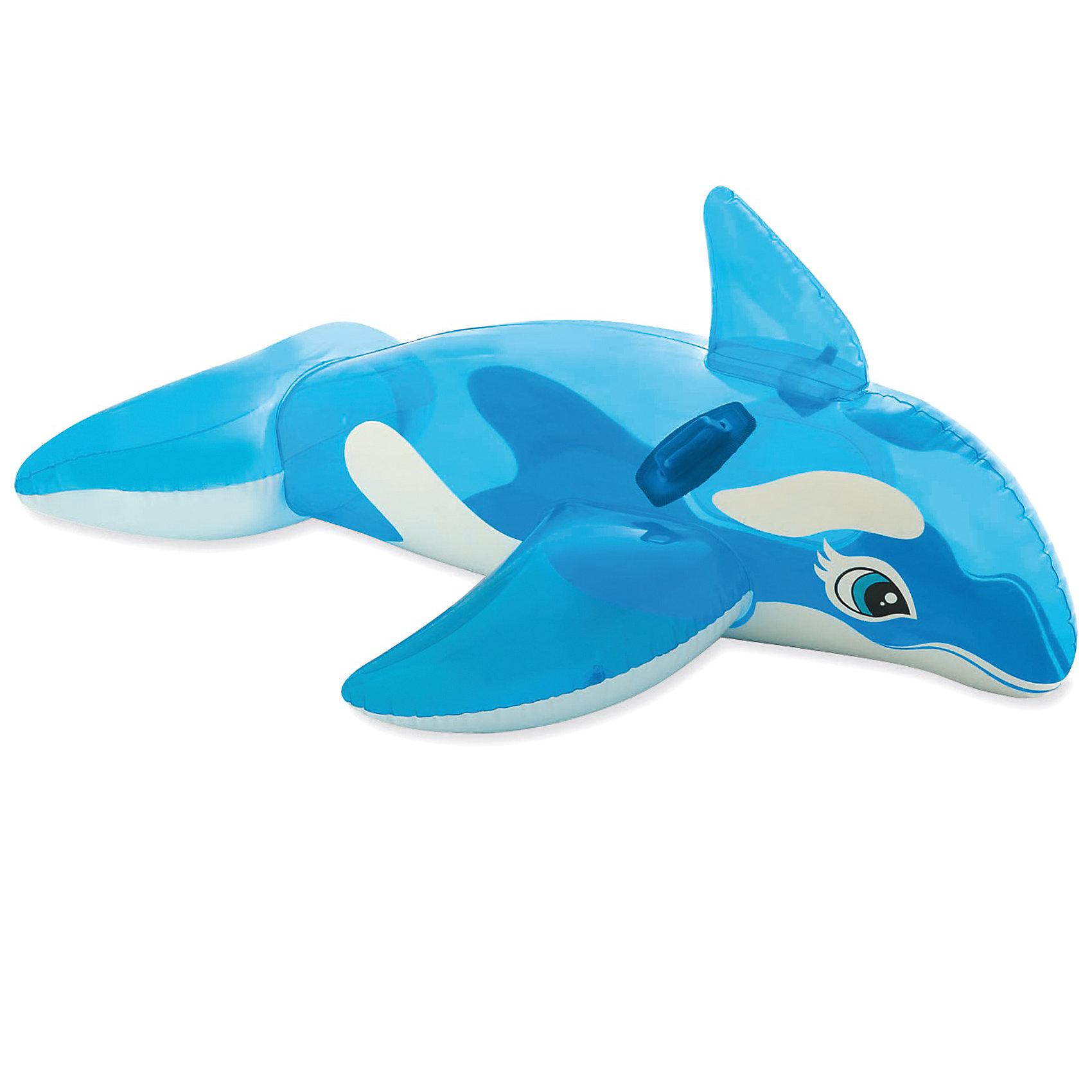 Детская надувная каталка с ручками Китенок, IntexДетская надувная каталка с ручками Китенок, Intex (Интекс) в виде доброго и забавного китенка поможет вашему ребенку научиться плавать и перестать бояться воды. Плот оборудован удобным сиденьем и крепкими ручками для безопасности и комфорта малыша. В сложенном виде игрушка не занимает много места, легкая и удобная при транспортировке и хранении.  Благодаря этой игрушке в виде надувного животного вы сможете обучить ребенка плаванию, сделав этот процесс веселым, увлекательным и, главное, безопасным. <br><br>Детская надувная каталка с ручками Китенок от Intex станет надежным другом для ребенка в водных забавах. <br><br>Дополнительная информация:<br><br>- Размер: 152 х 114 см<br>- Материал: винил<br>- Толщина винила 0,25 мм. <br>- Двойной клапан<br>- Страховочный шнур<br>- Две удобные ручки по бокам<br>- Вытянутая форма для комфортного расположения<br><br>Детская надувная каталка с ручками Китенок, Intex (Интекс) можно купить в нашем интернет-магазине.<br><br>Ширина мм: 234<br>Глубина мм: 208<br>Высота мм: 91<br>Вес г: 961<br>Возраст от месяцев: 36<br>Возраст до месяцев: 1164<br>Пол: Унисекс<br>Возраст: Детский<br>SKU: 1925242