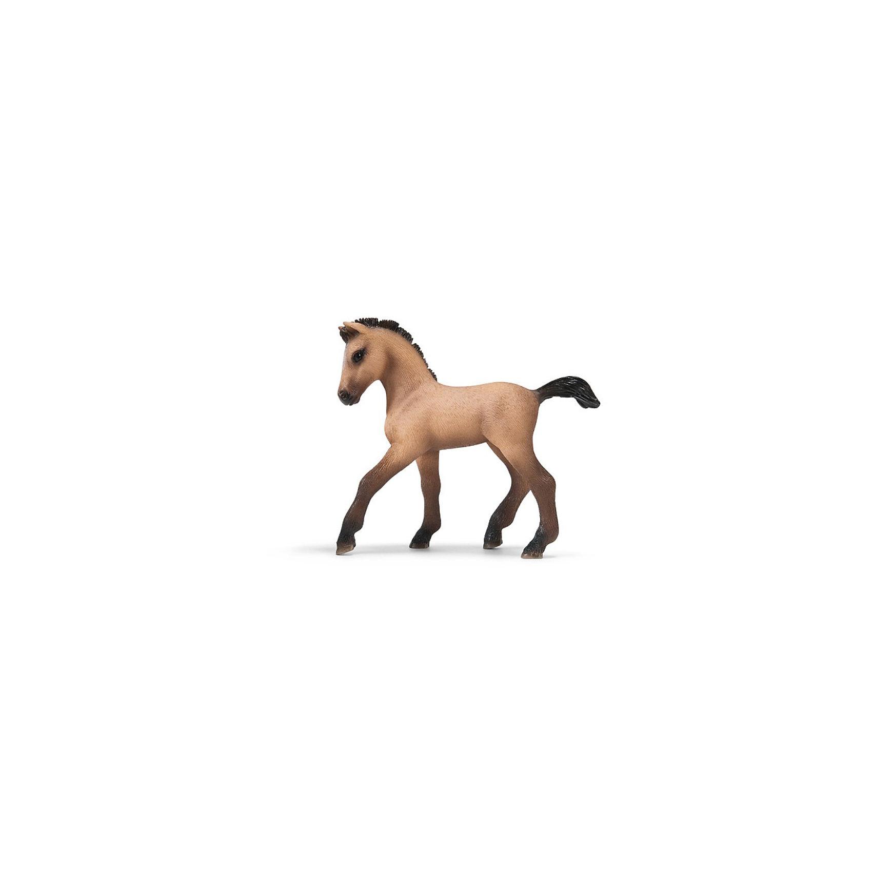 Schleich Жеребенок андалузской породы. Серия ЛошадиМир животных<br>Schleich (Шляйх), жеребенок андалузской породы. Серия Лошади.<br><br>Характеристика:<br><br>• Материал: резина, пластик.  <br>• Размер фигурки: 8,5x2,5x8 см. <br>• Фигурка прекрасно детализирована.<br>• Реалистично раскрашена вручную. <br><br>Фигурка жеребенка андалузской породы очень похожа на живую лощадь, отлично детализирована и реалистично раскрашена. Игрушки серии Лошади от немецкого бренда Schleich изготовлены из высококачественных экологичных материалов, с применением только безопасных, нетоксичных красителей. Собери всю коллекцию Schleich и познакомься поближе с такими удивительными дикими и домашними животными! <br><br>Schleich (Шляйх), жеребенка андалузской породы, серия Лошади, можно купить в нашем интернет-магазине.<br><br>Ширина мм: 125<br>Глубина мм: 93<br>Высота мм: 27<br>Вес г: 32<br>Возраст от месяцев: 36<br>Возраст до месяцев: 96<br>Пол: Женский<br>Возраст: Детский<br>SKU: 1978639