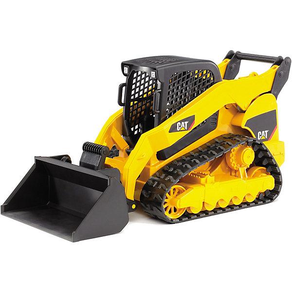 Мини-погрузчик гусеничный CAT с ковшом, BruderМашинки<br>Мини-погрузчик гусеничный CAT с ковшом, Bruder (Брудер) является копией настоящего экскаватора Caterpillar (Катерпиллар) в масштабе 1:16. Маленький, но мощный, универсальный и маневренный – он первый на небольшом участке ремонтно-строительных работ. В сетчатую кабинку можно посадить фигурку водителя из игрушек ребенка. Во время игры особенно увлекательно наблюдать, как экскаватор продвигается по разным поверхностям благодаря точно работающему гусеничному ходу. Его можно привезти на строительную площадку с использованием специального тягача с прицепом или заменить ковш на другие аксессуары (приобретаются дополнительно). <br><br>Характеристики:<br>-Подвижный резиновый гусеничных ход<br>-Ковш регулируется по высоте и меняет угол наклона<br>-Подходит для игры дома и на улице<br>-Масштаб: 1:16<br>-Совместим с фигурками и аксессуарами (навесное и прицепное оборудование) из соответствующей серии Брудер<br>-Тщательная детализация, в т. ч. внутри кабины<br><br>Дополнительная информация:<br>-Материалы: пластмасса ABS, резина<br>-Размеры в упаковке: 17х26х12 см<br>-Размер игрушки: 13х25х11 см<br><br>Мини-погрузчик гусеничный CAT с ковшом, Bruder (Брудер) можно купить в нашем магазине.<br>Ширина мм: 388; Глубина мм: 182; Высота мм: 162; Вес г: 664; Возраст от месяцев: 36; Возраст до месяцев: 96; Пол: Мужской; Возраст: Детский; SKU: 1980253;