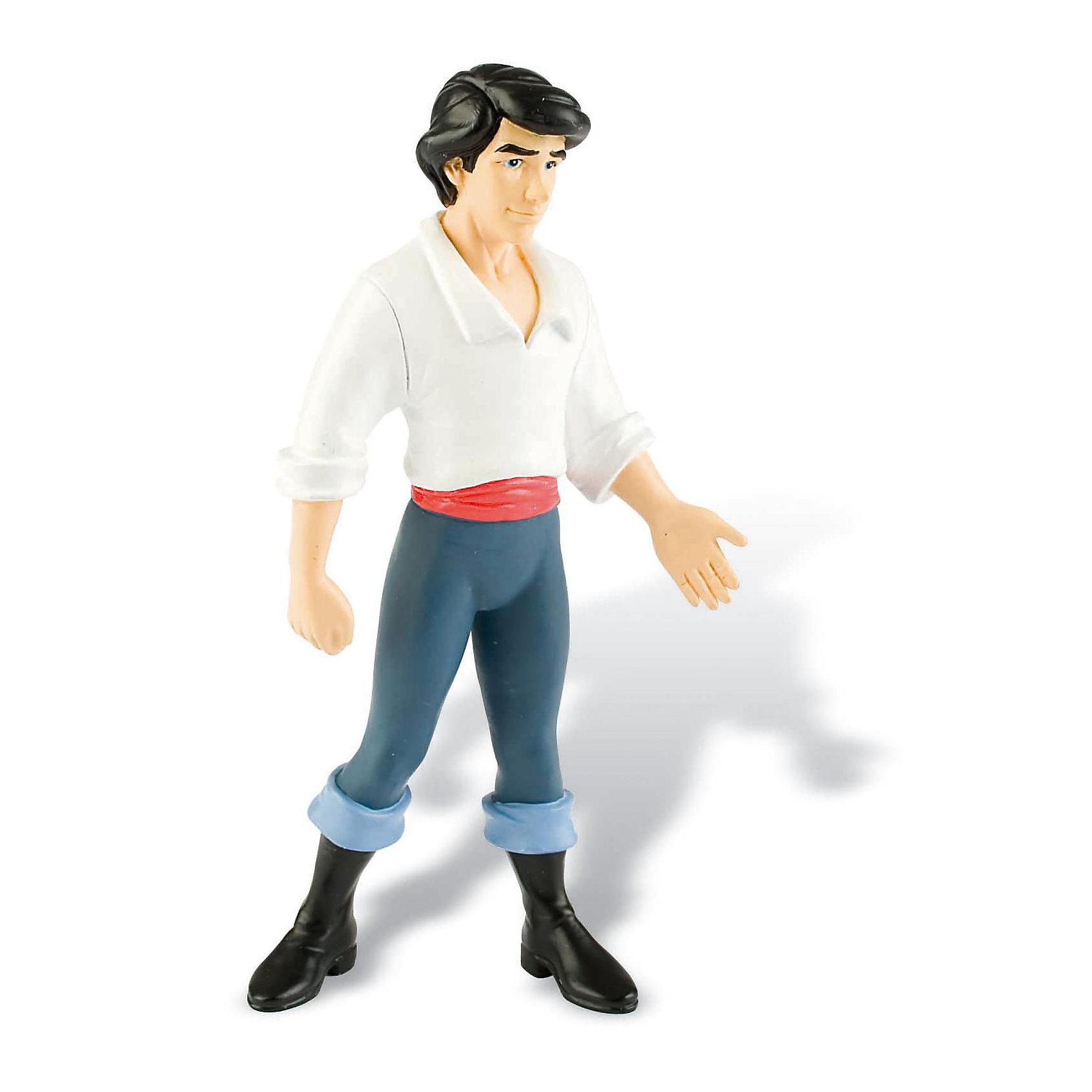 Фигурка Эрик,  DisneyФигурка принца Эрика из мультфильма Уолта Диснея «Русалочка». Главный герой сказки, возлюбленный Ариэль, принц Эрик. Смелый и отважный, положительный герой, любимец маленьких принцесс, он обязательно найдет своих поклонниц. Фигурка принца полностью соответствует персонажу мультфильма. Игрушка выполнена из высококачественных нетоксичных материалов, безопасна для детей. <br><br>Дополнительная информация:<br><br>Размер:11,5см <br>Материал: термопластичный каучук высокого качества. <br> <br>Фигурку Эрик,  Disney можно купить в нашем магазине.<br><br>Ширина мм: 125<br>Глубина мм: 50<br>Высота мм: 40<br>Вес г: 24<br>Возраст от месяцев: 36<br>Возраст до месяцев: 96<br>Пол: Женский<br>Возраст: Детский<br>SKU: 1985023