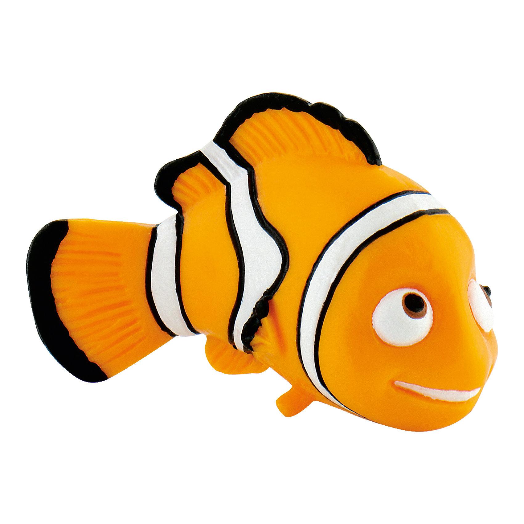 Фигурка Немо,  DisneyФигурка рыбки-клоуна Немо из мультфильма «В поисках Немо». Непослушный и своевольный малыш Немо попадает в аквариум и заводит новых друзей. Его ждут невероятные приключения и незабываемые встречи. Добрый и обаятельный Немо очень нравится детям, он станет другом вашего малыша. Фигурка рыбки-клоуна полностью соответствует герою мультфильма. Игрушка выполнена из высококачественных, нетоксичных материалов и безопасна для детей. <br><br>Дополнительная информация:<br><br>Размер:5,5см <br>Материал: термопластичный каучук высокого качества. <br> <br>Фигурку Немо,  Disney можно купить в нашем магазине.<br><br>Ширина мм: 65<br>Глубина мм: 53<br>Высота мм: 27<br>Вес г: 13<br>Возраст от месяцев: 36<br>Возраст до месяцев: 96<br>Пол: Женский<br>Возраст: Детский<br>SKU: 1985050