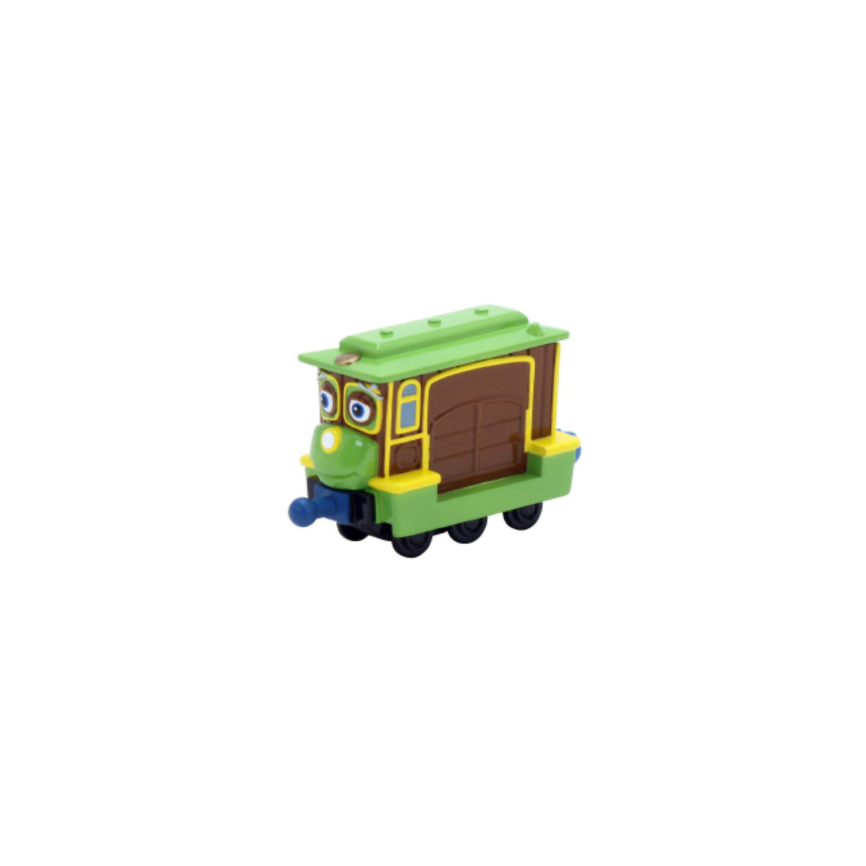 Паровозик Софи, ЧаггингтонИгрушки<br>Если Ваш ребенок поклонник мультсериала Веселые паровозики из Чаггингтона его несомненно порадует этот симпатичный паровозик. Зефи- одна из обитательниц городка Чаггингтон (Chuggington), железнодорожного центра, где живут и работают веселые паровозики.<br><br>Зефи - веселая девочка-паровозик, она очень миниатюрная и создана для перевозки пассажиров на короткие расстояния.<br><br>Зефи может приподниматься над своей платформой и крутиться вокруг себя. Дизайн паровозика соответствует своей экранной героине. Паровозик Софи легко сцепляется с другими паровозиками и вагончиками серии Die Cast Chuggington.<br><br>Дополнительная информация:<br><br>Материал: пластик, металл.<br>Размеры паровозика: 8 х 3 х 5 см.<br>Размеры упаковки: 14 х 4 х 17 см.<br><br>Купить паровозик Зефи можно в нашем интернет-магазине.<br><br>Ширина мм: 171<br>Глубина мм: 139<br>Высота мм: 25<br>Вес г: 76<br>Возраст от месяцев: 36<br>Возраст до месяцев: 60<br>Пол: Мужской<br>Возраст: Детский<br>SKU: 1993543