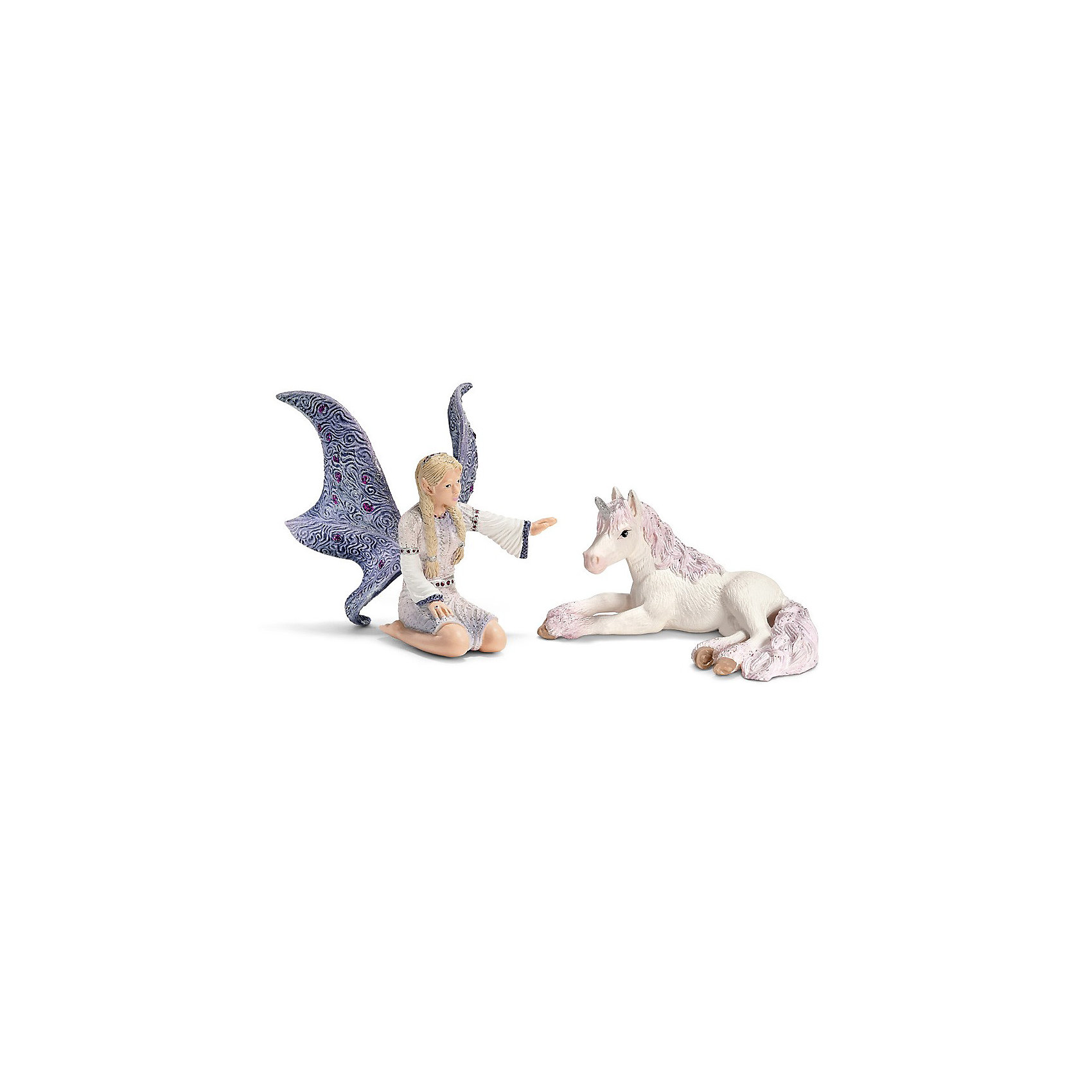 Schleich Schleich Линдариэль с жеребенком единорога. Серия Эльфы аксессуар proconnect bnc 05 3073 4 9