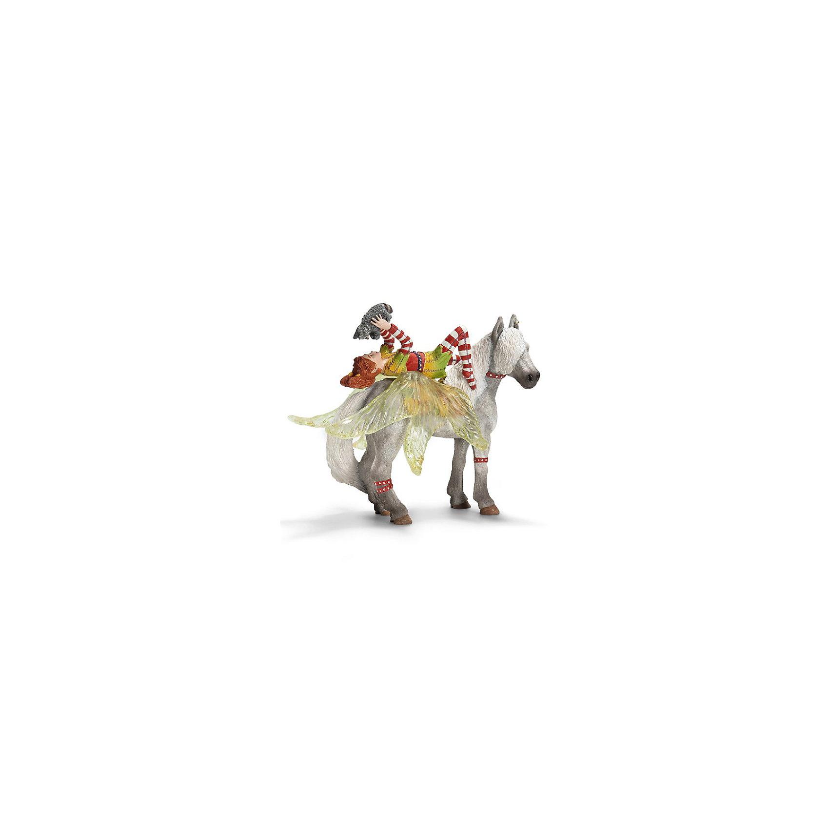 Schleich Марвин. Серия ЭльфыМарвин – яркая и веселая эльфийка. Она знает много всяких штучек, а ее лучший друг – маленький енот – всегда с ней.<br><br>От очаровательной Марвин из серии фигурок Солнечные эльфы фирмы Schleich (Шляйх) придут в восторг не только эльфы.<br><br>Она – необычайно колоритный персонаж из волшебного мира эльфов.<br><br><br><br>Подробнее:<br><br>- Размеры упаковки (ДxШxВ): прибл. 18 x 8,5 x 15 см<br>- Фигурка раскрашена вручную<br><br>Ширина мм: 183<br>Глубина мм: 161<br>Высота мм: 92<br>Вес г: 184<br>Возраст от месяцев: 36<br>Возраст до месяцев: 96<br>Пол: Женский<br>Возраст: Детский<br>SKU: 1995585
