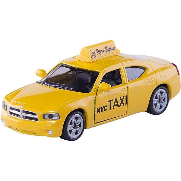 SIKU 1490 Американское таксиМашинки<br>SIKU (СИКУ) 1490 Американское такси-это знаменитый нью-йоркский желтый кеб на базе современного Dogde Charger.<br><br>Корпус автомобиля выполнен из металла, лобовое и заднее стёкла из прозрачной тонированной пластмассы, передние двери открываются, колёса выполнены из резины и вращаются, можно катать.<br><br>Дополнительная информация:<br>-Размеры 8,4х4х3,2 см<br>-Материал: металл с элементами пластмассы<br><br>Масштабная модель Нью-Йоркского такси, станет прекрасным дополнением вашей коллекции.<br><br>SIKU (СИКУ) 1490 Американское такси можно купить в нашем магазине.<br>Ширина мм: 95; Глубина мм: 78; Высота мм: 40; Вес г: 76; Возраст от месяцев: 36; Возраст до месяцев: 96; Пол: Мужской; Возраст: Детский; SKU: 1999734;