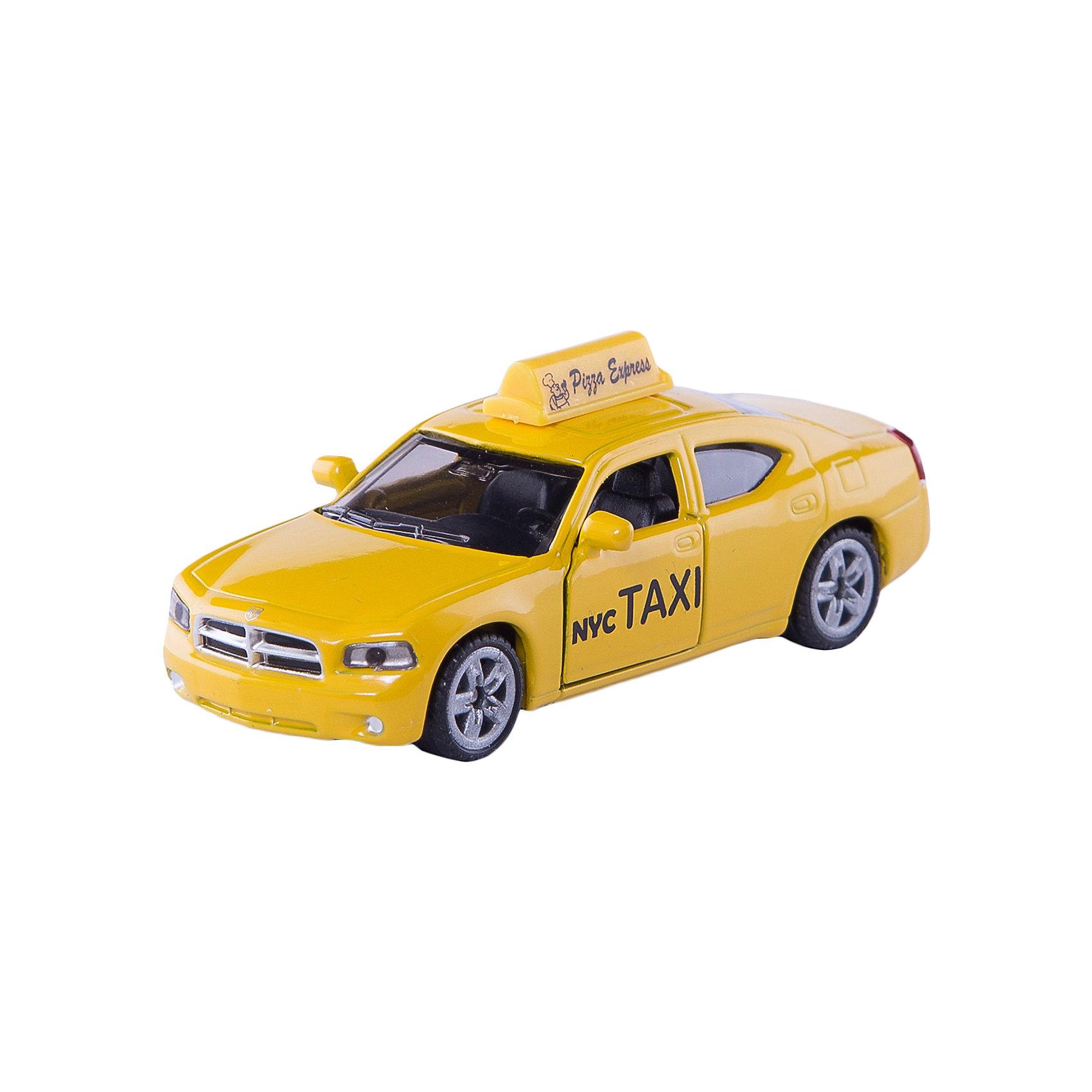 SIKU 1490 Американское таксиМашинки<br>SIKU (СИКУ) 1490 Американское такси-это знаменитый нью-йоркский желтый кеб на базе современного Dogde Charger.<br><br>Корпус автомобиля выполнен из металла, лобовое и заднее стёкла из прозрачной тонированной пластмассы, передние двери открываются, колёса выполнены из резины и вращаются, можно катать.<br><br>Дополнительная информация:<br>-Размеры 8,4х4х3,2 см<br>-Материал: металл с элементами пластмассы<br><br>Масштабная модель Нью-Йоркского такси, станет прекрасным дополнением вашей коллекции.<br><br>SIKU (СИКУ) 1490 Американское такси можно купить в нашем магазине.<br><br>Ширина мм: 95<br>Глубина мм: 78<br>Высота мм: 35<br>Вес г: 73<br>Возраст от месяцев: 36<br>Возраст до месяцев: 96<br>Пол: Мужской<br>Возраст: Детский<br>SKU: 1999734