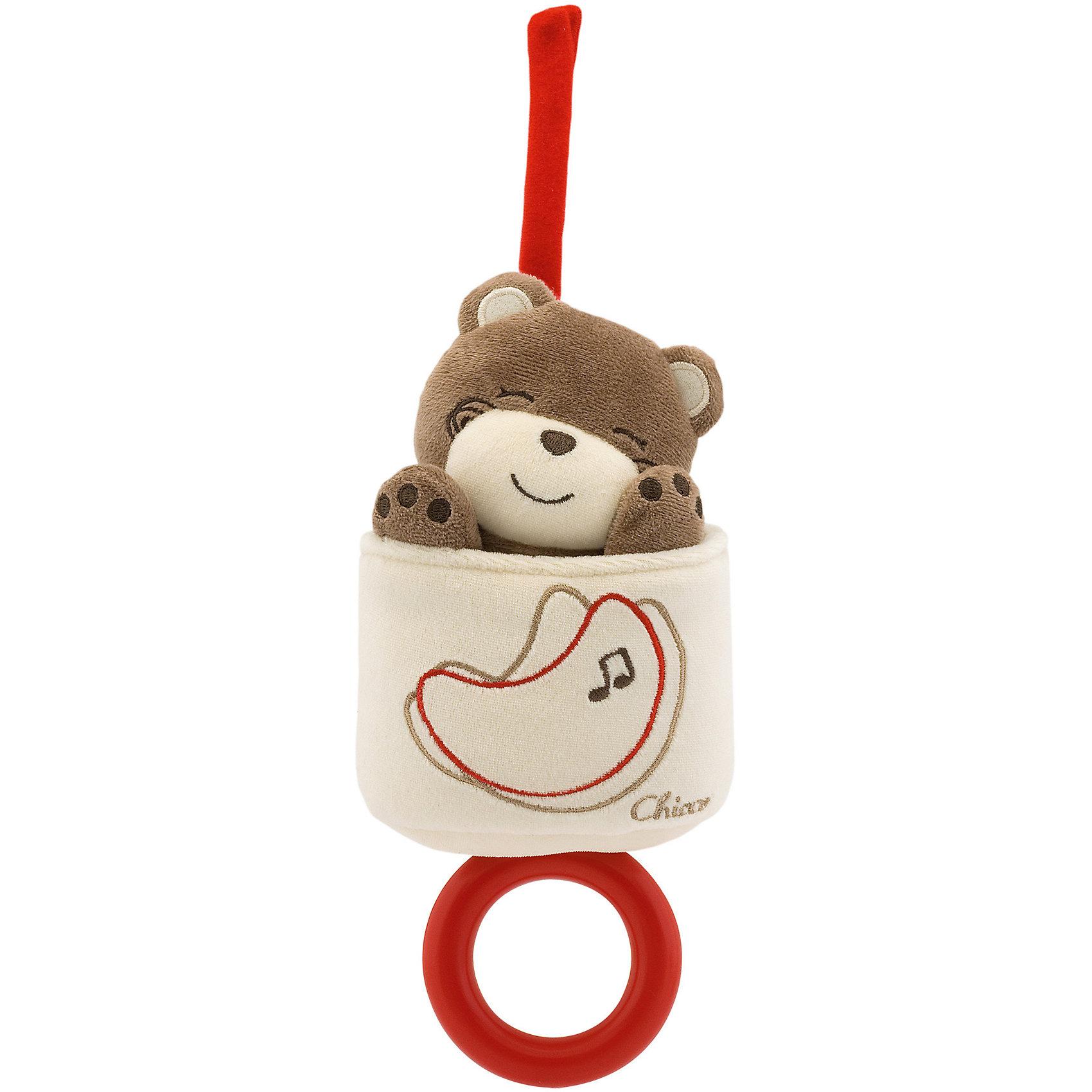 Музыкальная игрушка-медвежонок