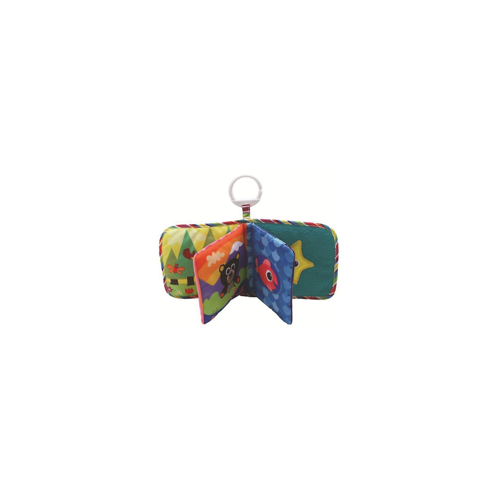 Игрушка Книжка первых открытий, LamazeИгрушки для малышей<br>Прекрасная книжка- шуршалка. Выполненная в яркой, контрастной цветовой гамме , она прекрасно развивает мелкую моторику и цветовосприятие. Книга состоит из четырех мягконабивных страничек, которые шуршат и пищат. Игрушка имеет кольцо, за которое ее можно подвесить к коляске, кроватке или манежу. Изготовлена из гипоаллергенных материалов, безопасных для детей. <br><br>Дополнительная информация:<br><br>- Материал: пластик, текстиль.<br>- Размер: 15 х 12 х 7 см<br>- Звуковые эффекты: есть.<br><br>Игрушку Книжка первых открытий, Lamaze можно купить в нашем магазине.<br><br>Ширина мм: 261<br>Глубина мм: 187<br>Высота мм: 50<br>Вес г: 96<br>Возраст от месяцев: 3<br>Возраст до месяцев: 18<br>Пол: Унисекс<br>Возраст: Детский<br>SKU: 2022609