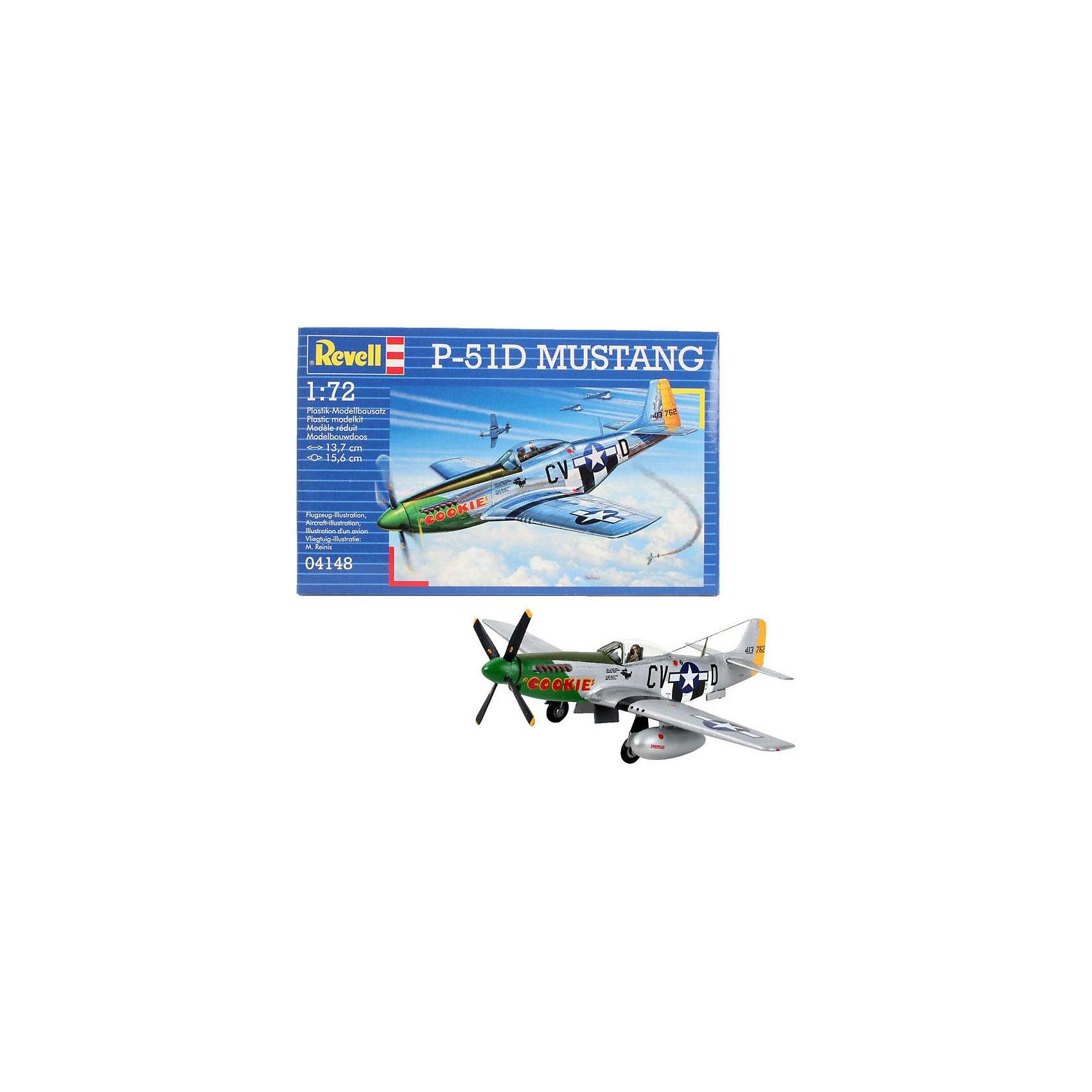 Самолет P-51D MustangМодели для склеивания<br>P-51D – американский одноместный истребитель времен Второй мировой. Использовался Королевскими ВВС как самолет-разведчик и истребитель прикрытия для дальних бомбардировщиков. Применялся во время войны в Корее <br>Масштаб: 1:72 <br>Количество деталей: 34 <br>Длина модели: 137 мм <br>Размах крыльев: 156 мм <br>Уровень сложности: 3 <br>Клей и краски в комплект не входят<br><br>Ширина мм: 207<br>Глубина мм: 132<br>Высота мм: 34<br>Вес г: 120<br>Возраст от месяцев: 144<br>Возраст до месяцев: 1188<br>Пол: Мужской<br>Возраст: Детский<br>SKU: 2071087