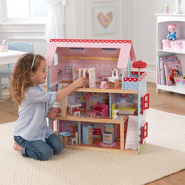 Кукольный дом Chelsea Doll CottageДомики для кукол<br><br>Ширина мм: 680; Глубина мм: 450; Высота мм: 120; Вес г: 7471; Возраст от месяцев: 36; Возраст до месяцев: 72; Пол: Женский; Возраст: Детский; SKU: 2105748;