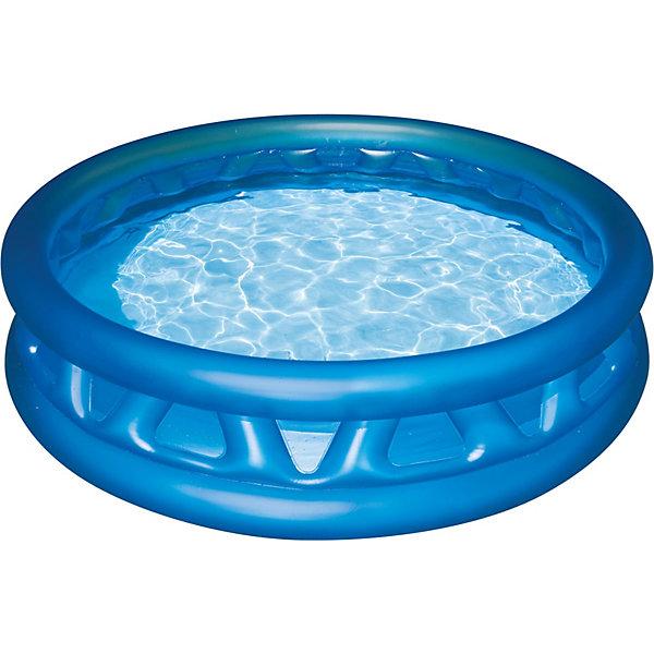 Детский надувной бассейн с мягкими стенками, IntexБассейны<br>Характеристики товара:<br><br>•  В комплекте: детский надувной бассейн с мягкими стенками, Intex, ремкомплект<br> • Размер бассейна: 188 x 46 см<br> • Объем (при 80% заполнении) 665 л.<br> • Глубина воды при указанном объеме: 36 см.<br> • Вес в упаковке 2,9 кг.<br> • Ненадувное дно<br><br>Детский надувной бассейн с мягкими стенками, Intex (Интекс). Бортики  с мягкими ребрами обеспечат комфорт и безопасность ребенка. Бассейн имеет 3 независимые воздушные камеры с двойными клапанами, что обеспечивает безопасность в случае прокола. Он способен вместить в себя несколько малышей, которые смогут весело плескаться и играть друг с другом. <br><br>Не оставит равнодушным Вашего малыша!<br><br>Детский надувной бассейн с мягкими стенками, Intex (Интекс) можно купить в нашем интернет-магазине.<br><br>Ширина мм: 361<br>Глубина мм: 307<br>Высота мм: 96<br>Вес г: 2813<br>Возраст от месяцев: 36<br>Возраст до месяцев: 1164<br>Пол: Унисекс<br>Возраст: Детский<br>SKU: 2106970