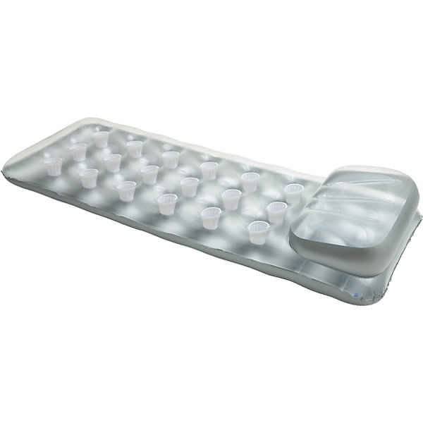 Надувной матрас, IntexМатрасы и лодки<br>Характеристики товара:<br><br>• размер: 183 х 69 см<br>• толщина: 0,18 мм<br>• цвет: верх - прозрачный винил, дно - серебро<br>• размер упаковки: 19 х 21,5 х 8,5 см<br>• вес: 1350 гр<br><br>Надувной матрас, Intex (Интекс) - сделает Ваш летний отдых комфортным и незабываемым.<br><br>Надувной матрац от Intex (Интекс) отличается отличным качеством и практичной конструкцией. <br><br>Прямоугольная форма, надувной подголовник, специальная система поддержки (конструкция  coil beam с внутренними перегородками  I-beam pillow), которая не позволяет матрасу сминаться, 18 лунок - для стаканов с напитками - вот его главные достоинства!<br><br>Надувной матрас, Intex (Интекс) можно купить в нашем интернет-магазине.<br>Ширина мм: 235; Глубина мм: 205; Высота мм: 78; Вес г: 1288; Возраст от месяцев: 36; Возраст до месяцев: 1164; Пол: Унисекс; Возраст: Детский; SKU: 2106974;