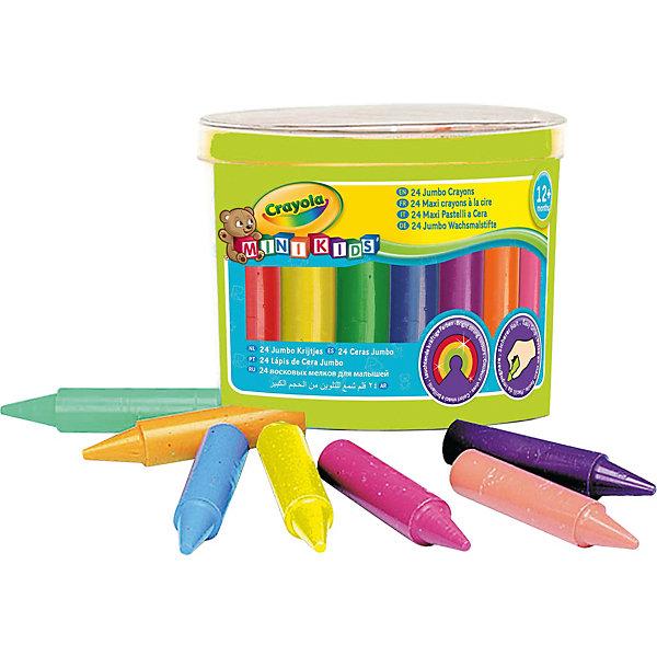 Восковые мелки в футляре, 24 шт., CrayolaМасляные и восковые мелки<br>Ваш ребёнок любит рисовать, но Вы никак не можете найти подходящие канцелярские товары для его творчества? Тогда восковые мелки от Crayola (Крайола) станут для Вас настоящей находкой! 24 ярких цвета и качественный материал не оставит у Вас сомнений в выборе. <br><br>Мелки поставляются в парктичном футляре, а благодаря своему размеру они подходят даже для самых маленьких ручек! Подарите Вашему малышу чудесные моменты творчества!<br><br>Восковые мелки в футляре от Crayola (Крайола) можно купить в нашем интернет-магазине.<br><br>Дополнительная информация:<br>Размер упаковки (д/ш/в): 7,4 х 9 х 9 см<br>Ширина мм: 95; Глубина мм: 93; Высота мм: 73; Вес г: 239; Возраст от месяцев: 12; Возраст до месяцев: 72; Пол: Унисекс; Возраст: Детский; SKU: 2127054;