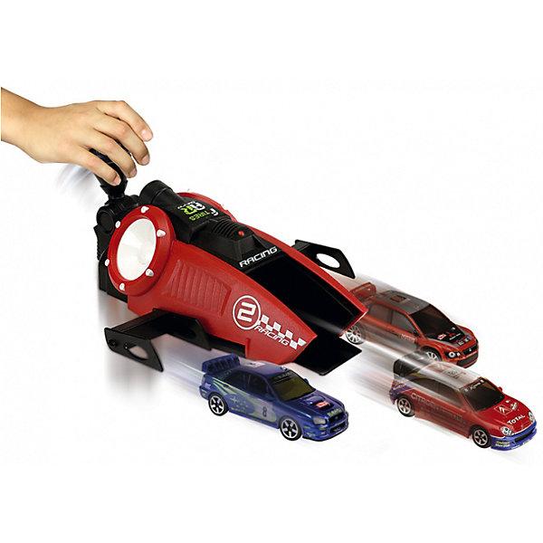Турбо-ускоритель Рэйсинг + 3 машинки, 1:64, MajoretteМашинки<br>Турбо-ускоритель Рэйсинг + 3 машинки, 1:64, Majorette (Мажоретте) - это прекрасный подарок маленькому любителю гонок.<br>С этим набором ребенок сможет устраивать гонки одновременно с тремя автомобилями. В комплекте малыш получит 3 миниатюрные модели известных гоночных автомобилей и прибор, который придаст ускорение этим машинкам. Один автомобильчик ставится в центральный паз, а два другие – по бокам на своеобразные крылья. Нажав на ручку, ребенок приводит в действие принцип рычага, и автомобили устремятся вперед с космической скоростью. Дизайн ускорителя порадует мальчишек, ведь и само устройство выглядит как гоночный автомобиль. Игра с машинками вырабатывает ловкость и слаженность движений, сноровку и координацию, развивает мелкую моторику пальцев рук и фантазию ребенка.<br><br>Дополнительная информация:<br><br>- В комплекте: турбо-ускоритель, 3 машинки<br>- Размер машинки: 7,5 х 2,5 х 3 см.<br>- Размер пускового устройства: 18 х 8 х 22 см.<br>- Масштаб: 1:64.<br>- Материал: высококачественный пластик, металл<br>- Размер упаковки: 26,5 х 10 х 26,2 см.<br><br>Турбо-ускоритель Рэйсинг + 3 машинки, 1:64, Majorette (Мажоретте) можно купить в нашем интернет-магазине.<br><br>Ширина мм: 265<br>Глубина мм: 262<br>Высота мм: 100<br>Вес г: 390<br>Возраст от месяцев: 36<br>Возраст до месяцев: 1164<br>Пол: Мужской<br>Возраст: Детский<br>SKU: 2144434