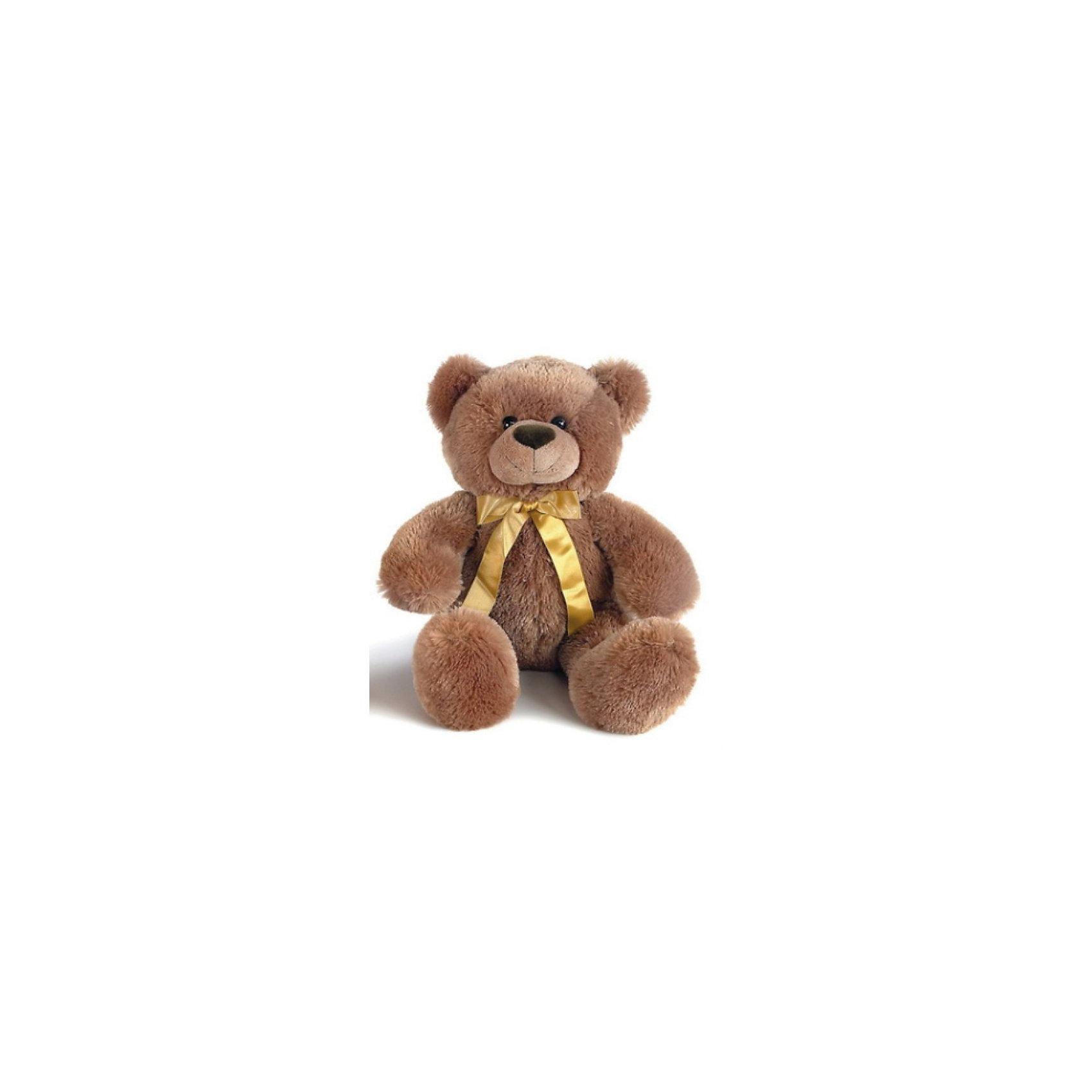 AURORA Мягкая игрушка Медведь темно-коричневый, 40 смAURORA Мягкая игрушка Медведь темно-коричневый, 40 см  - мягкий и симпатичный плюшевый медвежонок с атласным  бантиком на шее. <br><br><br>Мишка изготовлен из экологически чистых био-материалов: плюш высшего качества и гипoaллepгeнный cинтепoн. <br>Высокий уровень детализации, натуральные цвета, приятные на ощупь ткани и полное отсутсвие запахов - это отличительные черты всех без исключения игрушек Аврора. <br><br>Дополнительная информация:<br><br>- Игрушка пригодна для машинной стирки, не теряет при этом внешний вид.<br>- Материалы: плюш и гипoaллepгeнный cинтепoн.<br>- Высота - 40 см.<br><br>Этот красивый плюшевый медведь от Aurora обязательно понравится вашему ребенку, и станет ему отличным другом и компаньоном в играх! Как дети, так и взрослые в восторге от смешных плюшевых медвежат!<br><br>Ширина мм: 400<br>Глубина мм: 290<br>Высота мм: 170<br>Вес г: 581<br>Возраст от месяцев: 24<br>Возраст до месяцев: 120<br>Пол: Унисекс<br>Возраст: Детский<br>SKU: 2147585