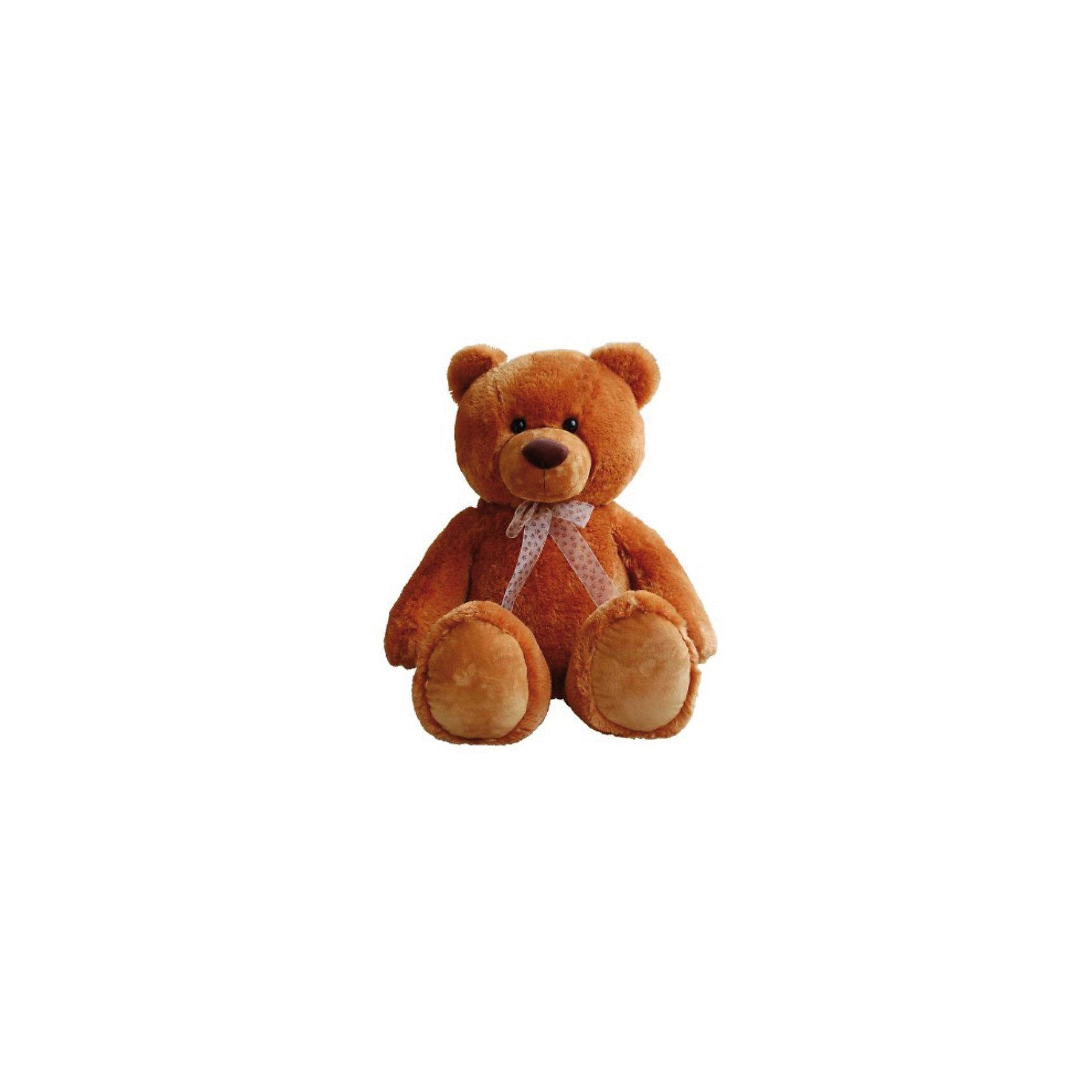 AURORA AURORA Мягкая игрушка Медведь сидячий (коричневый), 80 см aurora 11 355 аврора медведь 56 см