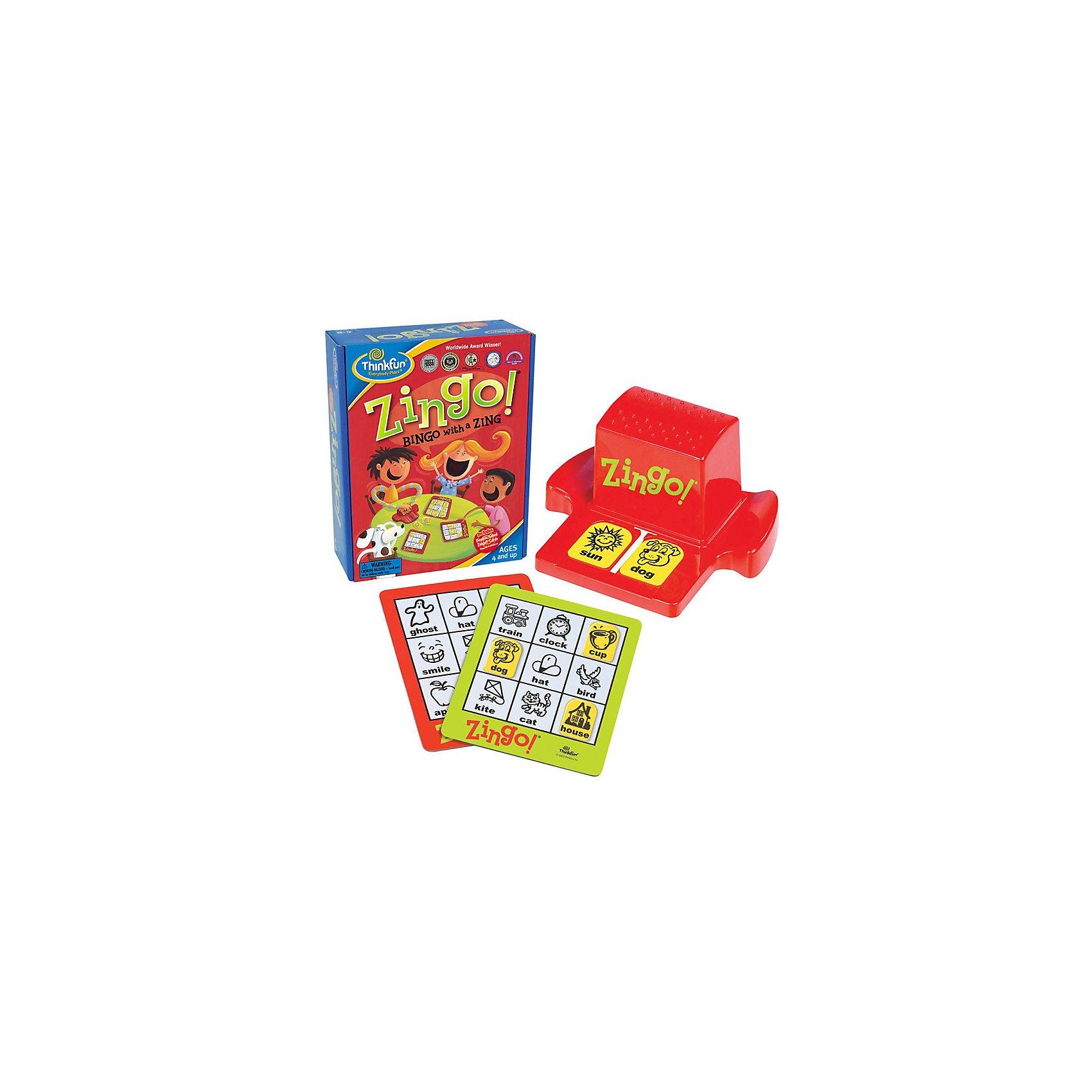Детское лото Обучай-ка, ThinkfunЛото<br>Thinkfun 7700-RU Детское лото Обучай-ка<br>Детское лото «Обучай-ка». (ZINGO) - захватывающая игра, развивающая ассоциативное мышление и многие другие навыки. В игре используются слова и картинки, поэтому она прекрасно подходит для детей, не умеющих или  начинающих читать. СЛОВА НАПИСАНЫ НА РУССКОМ ЯЗЫКЕ. <br><br>Цель игры - игроки стараются первыми полностью закрыть свои карточки соответствующими фишками. <br><br>Детское лото «Обучай-ка!» научит детей от 4-х лет:<br>• Распознавать слова и изображения  <br>• Соотносить слова и изображения  <br>• Быстро вербализировать свои мысли  <br>• Правильно писать слова  <br>• Концентрировать внимание  <br>• Радоваться победам и переживать поражения. <br><br>Детское лото «Обучай-ка» неоднократно становилось победителем различных смотров и конкурсов.<br><br>Ширина мм: 90<br>Глубина мм: 203<br>Высота мм: 260<br>Вес г: 423<br>Возраст от месяцев: 72<br>Возраст до месяцев: 108<br>Пол: Унисекс<br>Возраст: Детский<br>SKU: 2148461