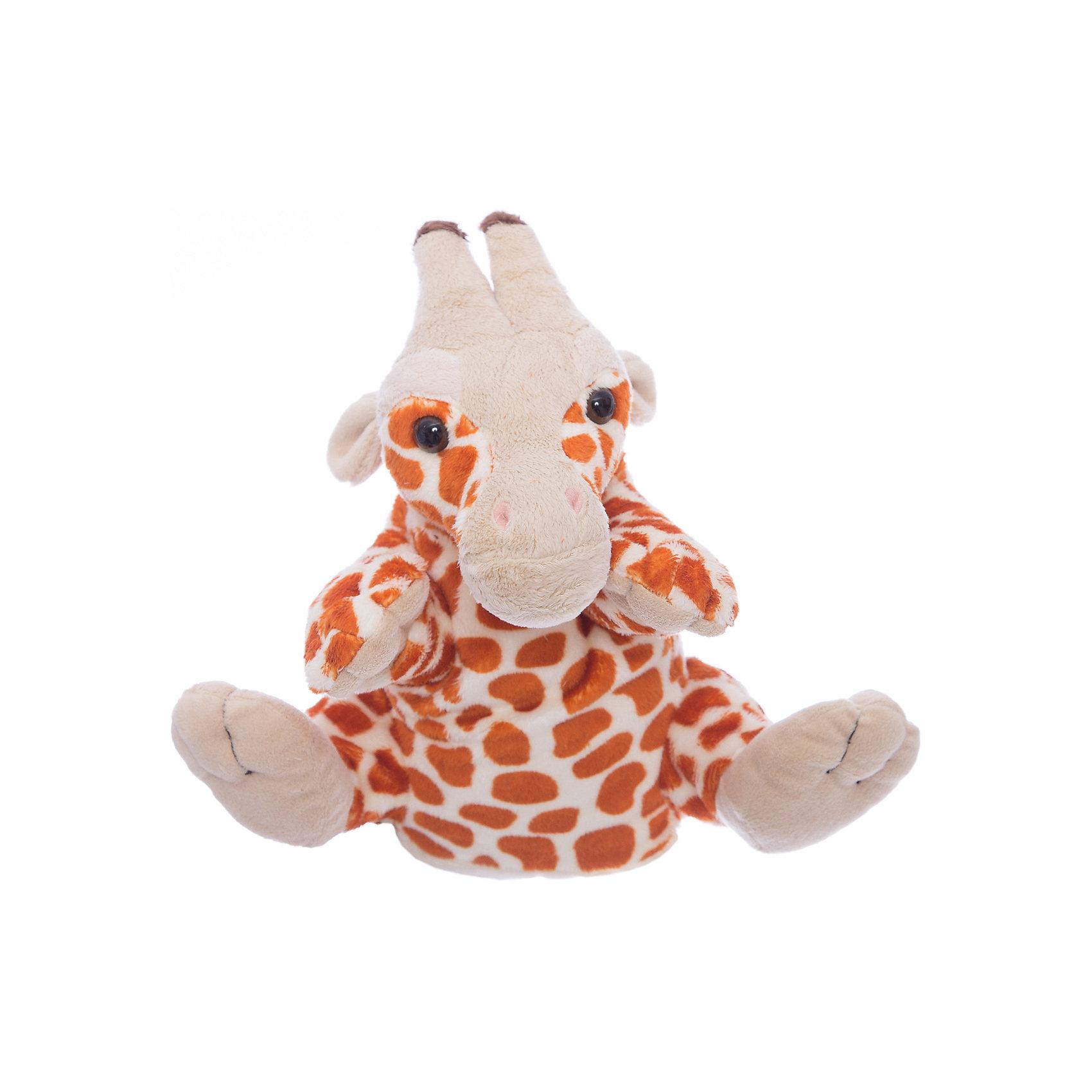 Gulliver Gulliver Мягкая игрушка жираф-руковичка, 27см игрушка мягкая gulliver кукла хозяюшка 30см