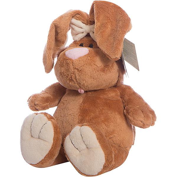 Gulliver Кролик, 40смМягкие игрушки животные<br>Gulliver Кролик, 40см<br><br>Характеристики игрушки:<br>- Состав: текстиль, плюш, пластик<br>- Размер: 40 см. <br><br>Кролик, 40см от популярного бренда мягких игрушек Gulliver (Гулливер) станет отличным другом малыша. Зайчик изготовлен из безопасных материалов, не содержит мелких деталей и подходит детям от трех лет. Мягкие оттенки коричневого добавят уюта, а большие пухлые лапки так и хотят обнять. Длинные пушистые ушки приятные и мягкие на ощупь. Кролик поможет развить воображение, навыки общения, моторику рук, а также тактильное и цветовое восприятие.   <br><br>Мягкую игрушку Кролик, 40см, Gulliver (Гулливер) можно купить в нашем интернет-магазине.<br>Подробнее:<br>• Для детей в возрасте: от 3 до 10 лет <br>• Номер товара: 2148688<br>Страна производитель: Россия<br><br>Ширина мм: 150<br>Глубина мм: 150<br>Высота мм: 400<br>Вес г: 100<br>Возраст от месяцев: 36<br>Возраст до месяцев: 84<br>Пол: Унисекс<br>Возраст: Детский<br>SKU: 2148688