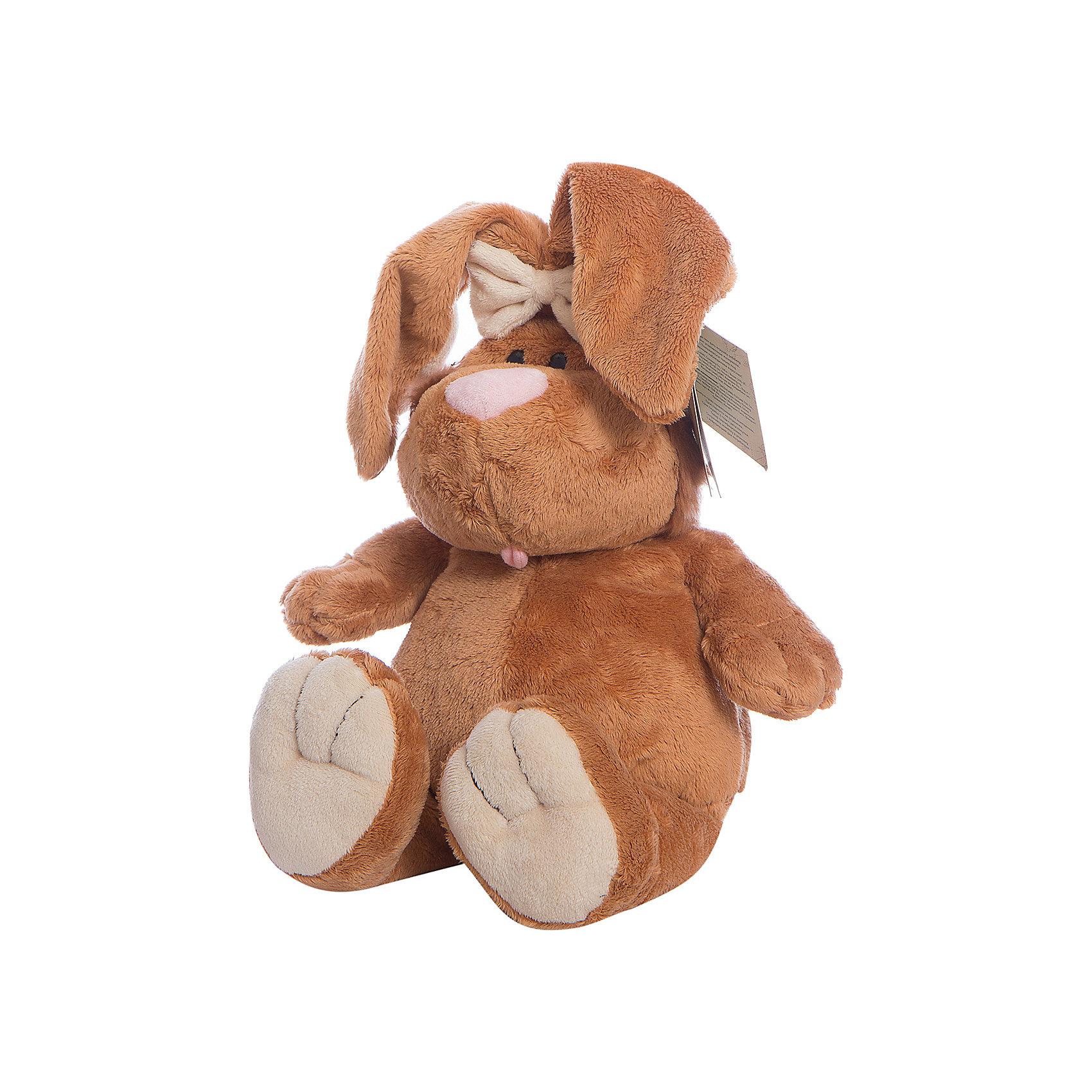 Gulliver Кролик, 40смЗайцы и кролики<br>Gulliver Кролик, 40см<br><br>Характеристики игрушки:<br>- Состав: текстиль, плюш, пластик<br>- Размер: 40 см. <br><br>Кролик, 40см от популярного бренда мягких игрушек Gulliver (Гулливер) станет отличным другом малыша. Зайчик изготовлен из безопасных материалов, не содержит мелких деталей и подходит детям от трех лет. Мягкие оттенки коричневого добавят уюта, а большие пухлые лапки так и хотят обнять. Длинные пушистые ушки приятные и мягкие на ощупь. Кролик поможет развить воображение, навыки общения, моторику рук, а также тактильное и цветовое восприятие.   <br><br>Мягкую игрушку Кролик, 40см, Gulliver (Гулливер) можно купить в нашем интернет-магазине.<br>Подробнее:<br>• Для детей в возрасте: от 3 до 10 лет <br>• Номер товара: 2148688<br>Страна производитель: Россия<br><br>Ширина мм: 150<br>Глубина мм: 150<br>Высота мм: 400<br>Вес г: 100<br>Возраст от месяцев: 36<br>Возраст до месяцев: 84<br>Пол: Унисекс<br>Возраст: Детский<br>SKU: 2148688