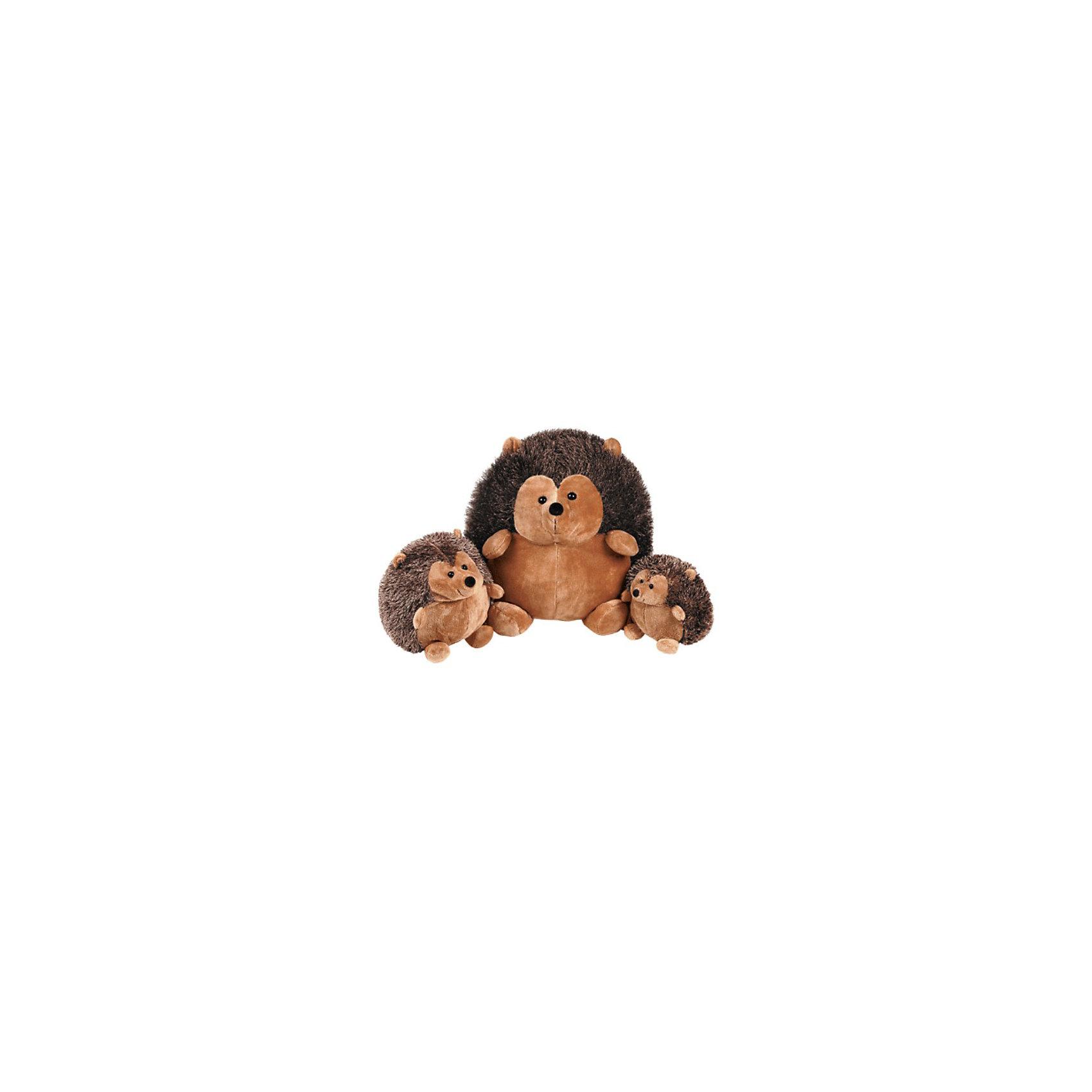Gulliver Ежик сидячий, 35 см, Gulliver мягкие игрушки gulliver ежик