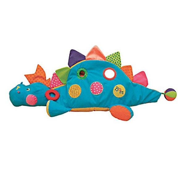 Ks Kids Развивающий центр BossРазвивающие игрушки<br>Этот развивающий центр стал одной из 10 лучших игрушек, которые появятся на рынке США в 2007году (Top 10 Toy Fair favorites for 2007). <br><br>Компания Ks Kids совместила в этой игрушке разные по цвету и фактуре материалы. Внутри динозаврика находятся мягкие цветные шарики, благодаря чему игрушка может превратиться в сухой бассейн, в котором ребёнок будет весело проводить время. Большой и лёгкий «I am the Boss» станет другом ребёнка, ведь новая эта игрушка позволит ребёнку развивать физическое, социальное и умственное развитие.<br><br>Дополнительная информация:<br><br>Длина игрушки: 120 см.<br><br>Материал: Мягкая ткань, пластик<br><br><br>Прекрасный развивающий центр для Вашего ребёнка.<br>Ширина мм: 510; Глубина мм: 550; Высота мм: 200; Вес г: 1867; Возраст от месяцев: 12; Возраст до месяцев: 36; Пол: Унисекс; Возраст: Детский; SKU: 2148731;