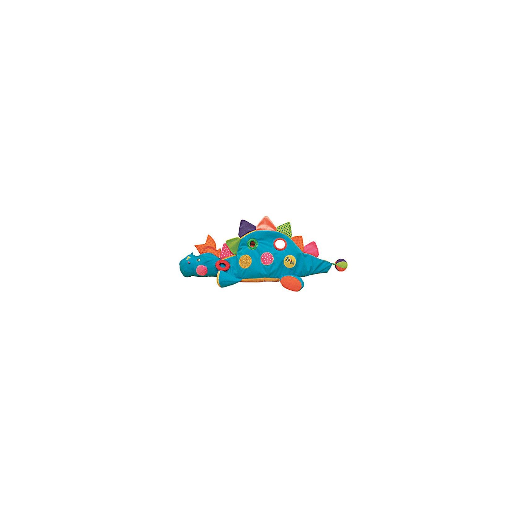 Ks Kids Развивающий центр BossЭтот развивающий центр стал одной из 10 лучших игрушек, которые появятся на рынке США в 2007году (Top 10 Toy Fair favorites for 2007). <br><br>Компания Ks Kids совместила в этой игрушке разные по цвету и фактуре материалы. Внутри динозаврика находятся мягкие цветные шарики, благодаря чему игрушка может превратиться в сухой бассейн, в котором ребёнок будет весело проводить время. Большой и лёгкий «I am the Boss» станет другом ребёнка, ведь новая эта игрушка позволит ребёнку развивать физическое, социальное и умственное развитие.<br><br>Дополнительная информация:<br><br>Длина игрушки: 120 см.<br><br>Материал: Мягкая ткань, пластик<br><br><br>Прекрасный развивающий центр для Вашего ребёнка.<br><br>Ширина мм: 510<br>Глубина мм: 550<br>Высота мм: 200<br>Вес г: 1867<br>Возраст от месяцев: 12<br>Возраст до месяцев: 36<br>Пол: Унисекс<br>Возраст: Детский<br>SKU: 2148731