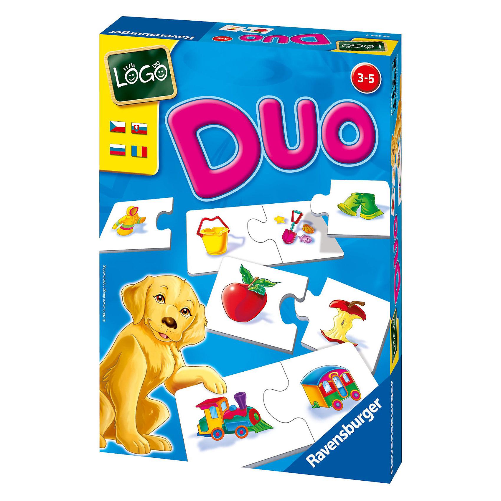 Обучающая игра Что к чему подходит? RavensburgerРазвивающие игры<br>Обучающая игра «Что к чему подходит?» - одна из лучших развивающих игрушек для малышей!<br><br>Цель игры - собрать пары с изображением логически связанных друг с другом предметов. Руководствуясь принципом ассоциации, необходимо соединить картинки, как в пазле. Разные по форме носики позволяют совместить только парные карточки.<br><br>Парные картинки:<br>•Яблоко — огрызок;<br>•Зубная щетка — тюбик с пастой;<br>•Свечки — торт;<br>•Кукла — коляска;<br>•Ведерко для песка — лопатка с формочками;<br>•Карандаши — рисунок;<br>•Тарелка — столовый прибор;<br>•Куртка — брюки;<br>•Паровоз — вагон;<br>•Стол — стул;<br>•Мороженое — вафельный стаканчик;<br>•Пульт управления — телевизор<br><br>Такая игра способствует развитию логического и ассоциативного мышления, внимательности, учит устанавливать причинно-следственные связи.<br><br>Карточки изготовлены из плотного картона, который не расслаивается и не деформируется при игре. Вас также порадует отличное качество полиграфии и яркость цветов.<br><br>Игра Что к чему подходит? от Ravensburger - веселое и увлекательное обучение для Вашего ребенка!<br><br><br>Дополнительная информация:<br><br>- в комплекте: 12 пар карточек и правила на русском языке<br>- количество игрков: 1-4 человека<br>- материал: плотный картон<br><br>Ширина мм: 170<br>Глубина мм: 60<br>Высота мм: 230<br>Вес г: 213<br>Возраст от месяцев: 36<br>Возраст до месяцев: 60<br>Пол: Унисекс<br>Возраст: Детский<br>SKU: 2148763