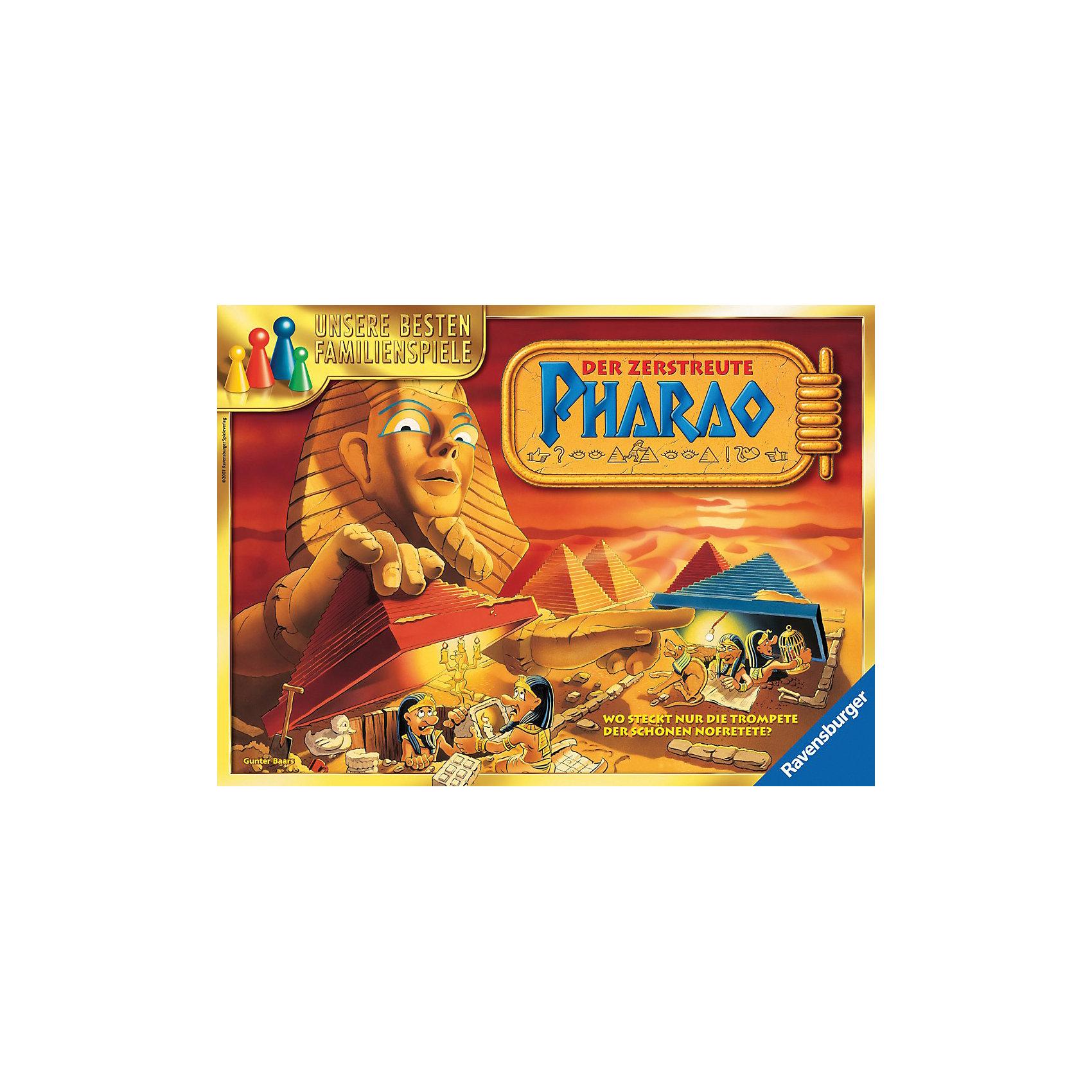 Настольная игра Рамзес ll RavensburgerНастольная игра Рамзес ll Ravensburger (русскоязычная версия) точно не даст Вам скучать!<br><br>Очень богатый, но, к сожалению, немного рассеянный фараон собрал за свою жизнь многочисленные сокровища из разных стран и спрятал их от воров в своих пирамидах. Однако он сам уже не помнит, что и где у него лежит.<br><br>К счастью, Вы и Ваш ребенок сможете помочь забывчивому Рамзесу отыскать его драгоценности. Тот, кто найдет больше всего сокровищ и соберет самые ценные, станет победителем.<br><br>Отправляйтесь на поиски сокровищ фараона всей семьей!<br><br>Дополнительная информация:<br><br>- Размеры упаковки (д/ш/в): 5,5 х 37,3 х 27,3 см.<br>- Количество игроков: 2-5.<br><br>Игра особенно понравится детям, которые увлекаются историей Древнего Египта.<br><br>Настольную игру Рамзес ll Ravensburger можно купить в нашем магазине.<br><br>Ширина мм: 55<br>Глубина мм: 373<br>Высота мм: 273<br>Вес г: 880<br>Возраст от месяцев: 96<br>Возраст до месяцев: 1164<br>Пол: Унисекс<br>Возраст: Детский<br>SKU: 2148768