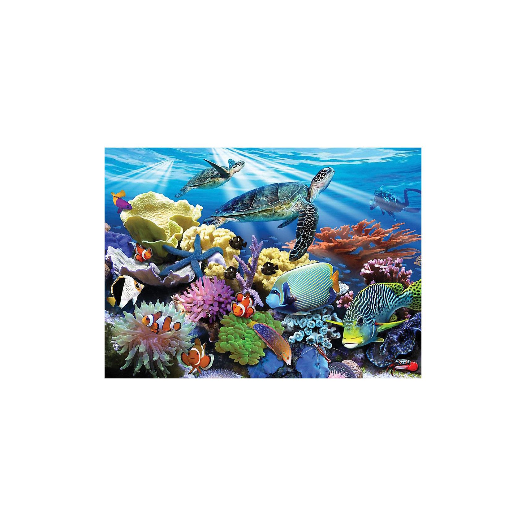 """Ravensburger Пазл """"Морские черепахи"""", 200 деталей от myToys"""