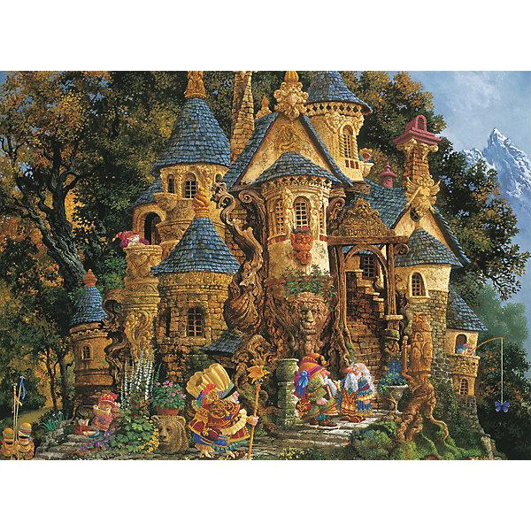 Пазл «Школа волшебства» 500 деталей, RavensburgerПазлы<br>Пазл «Школа волшебства» 500 деталей, Ravensburger (Равенсбургер) – этот яркий красочный пазл великолепный подарок для вашего ребенка.<br>Пазл «Школа волшебства» от немецкой фирмы Ravensburger (Равенсбургер) - это очень необычный сказочный пазл. Домик-замок, сказочные герои, лес, горы – все это не оставит равнодушными и детей, и взрослых любителей чудес. Собирая картинку, ребенок развивает логическое мышление, воображение, мелкую моторику и умение принимать самостоятельные решения. Пазлы Ravensburger неповторимы и уникальны тем, что для их изготовления используется картон наивысшего класса, благодаря которому сложенные головоломки не сгибаются, сам картон не отделяется от картинки, а сложенная картинка представляется абсолютно плоской и не деформируется даже спустя время. Прочные детали не ломаются. Каждая деталь имеет свою форму и подходит только на своё место. Матовая поверхность исключает неприятные отблески. Изготовлено из экологического сырья.<br><br>Дополнительная информация:<br><br>- Количество деталей: 500<br>- Размер картинки: 36 х 49 см.<br>- Материал: картон<br>- Размер коробки: 34 x 4 х 23 см.<br><br>Пазл «Школа волшебства» 500 деталей, Ravensburger (Равенсбургер) можно купить в нашем интернет-магазине.<br><br>Ширина мм: 340<br>Глубина мм: 40<br>Высота мм: 230<br>Вес г: 547<br>Возраст от месяцев: 60<br>Возраст до месяцев: 1188<br>Пол: Женский<br>Возраст: Детский<br>Количество деталей: 500<br>SKU: 2148812