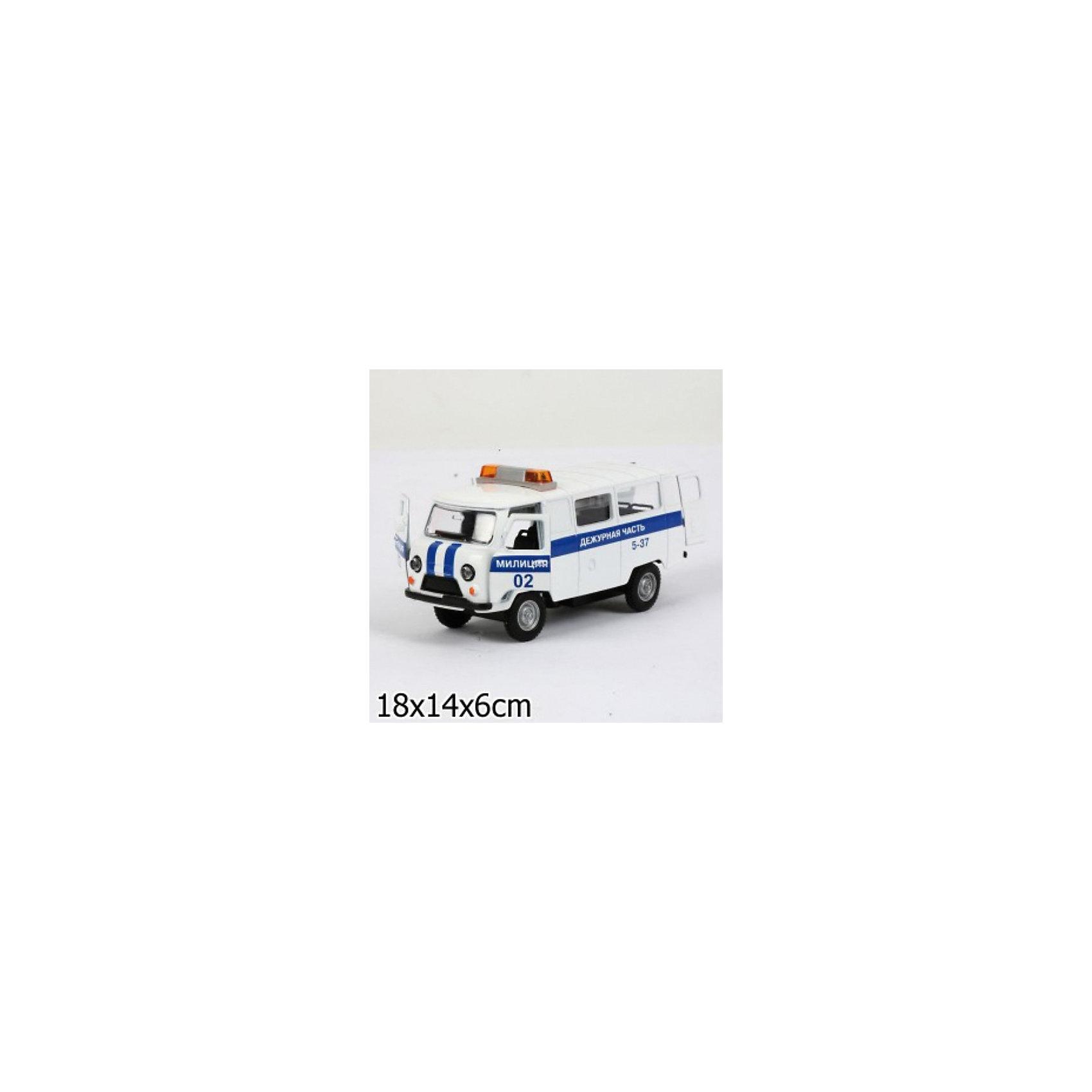 ТЕХНОПАРК ТЕХНОПАРК Машина милиции белая технопарк технопарк набор милиция со светофором и фигурками