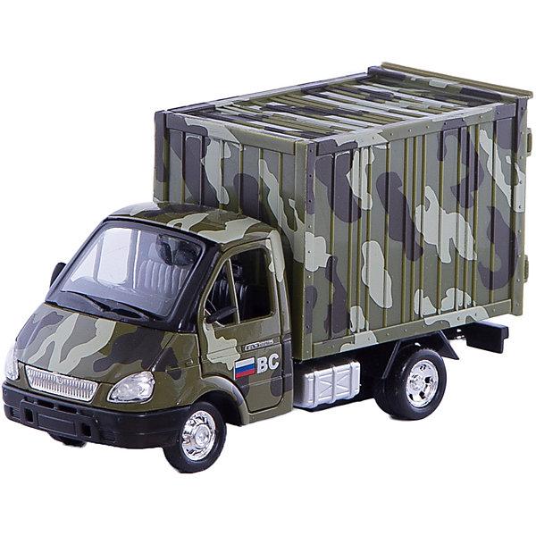 ТЕХНОПАРК Военный фургонВоенный транспорт<br>Характеристики:<br><br>• тип игрушки: машина;<br>• возраст: от 3 лет;<br>• размер: 22х16х7 см;<br>• цвет: камуфляж;<br>• масштаб: 1:43;<br>• материал: пластик, металл, резина;<br>• бренд: Технопарк;<br>• страна производителя: Китай.<br><br>Машинка Технопарк «Военный фургон»  придется по душе малышам от 3 лет. Игрушка оснащена инерционным механизмом, она быстро поедет вперед, если ее откатить назад и отпустить. Фургон защитной расцветки выполнен в масштабе 1:43 с высокой степенью детализации, его колеса крутятся, капот и двери открываются, в кузов можно положить мелкие игрушки, а кабина оснащена приборной панелью. Изготовлена игрушка из прочных материалов, она прослужит ребенку долгое время. Машинка Технопарк надолго увлечет малыша.<br>Машинку Технопарк «Военный фургон»  можно купить в нашем интернет-магазине.<br>Ширина мм: 70; Глубина мм: 220; Высота мм: 165; Вес г: 260; Возраст от месяцев: 36; Возраст до месяцев: 120; Пол: Мужской; Возраст: Детский; SKU: 2149022;