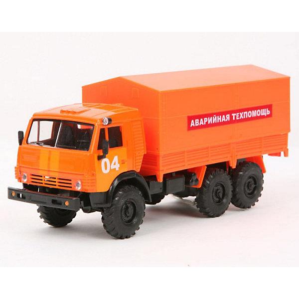 Камаз Аварийная Техпомощь, ТЕХНОПАРКМашинки<br>Инерционная Аварийная техпомощь от ТЕХНОПАРК, выполненная из пластика и металла, станет любимой игрушкой вашего ребенка. <br>Игрушка представляет из себя точную копию аварийного автомобиля, построенного на базе грузовика КАМАЗ.<br><br>Дополнительная информация:<br><br>Масштаб 1:43<br>Съемный тент<br>Инерционная<br>Материал: металл, пластик<br>Откидная кабина<br>Прорезиненные колеса<br>Размеры: 18 х 6 х 7 см<br>Размер упаковки: 24 х 7,5 х 15 см<br><br>Камаз Аварийную Техпомощь, ТЕХНОПАРК можно купить в нашем магазине.<br><br>Ширина мм: 100<br>Глубина мм: 240<br>Высота мм: 70<br>Вес г: 250<br>Возраст от месяцев: 36<br>Возраст до месяцев: 120<br>Пол: Мужской<br>Возраст: Детский<br>SKU: 2149027